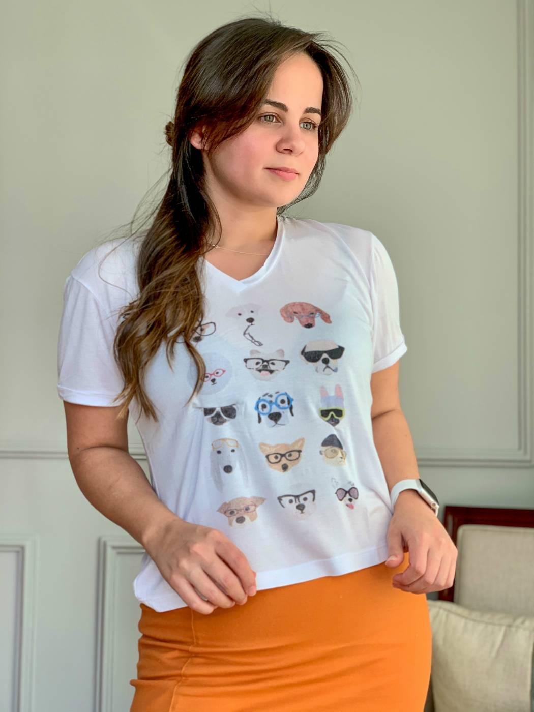 Tshirt Dogs Aquarella
