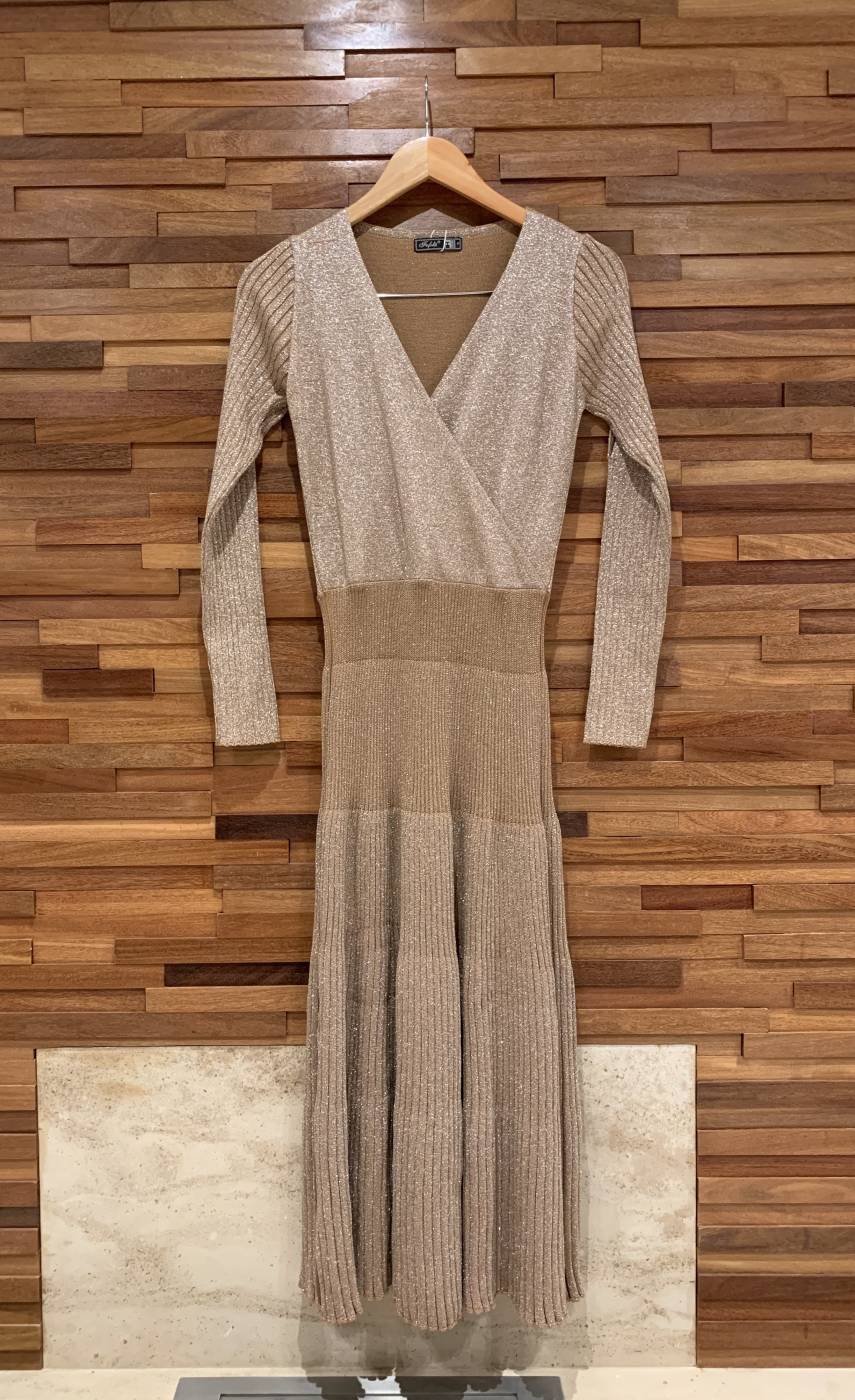 Vestido Tricot Shine -2 Cores