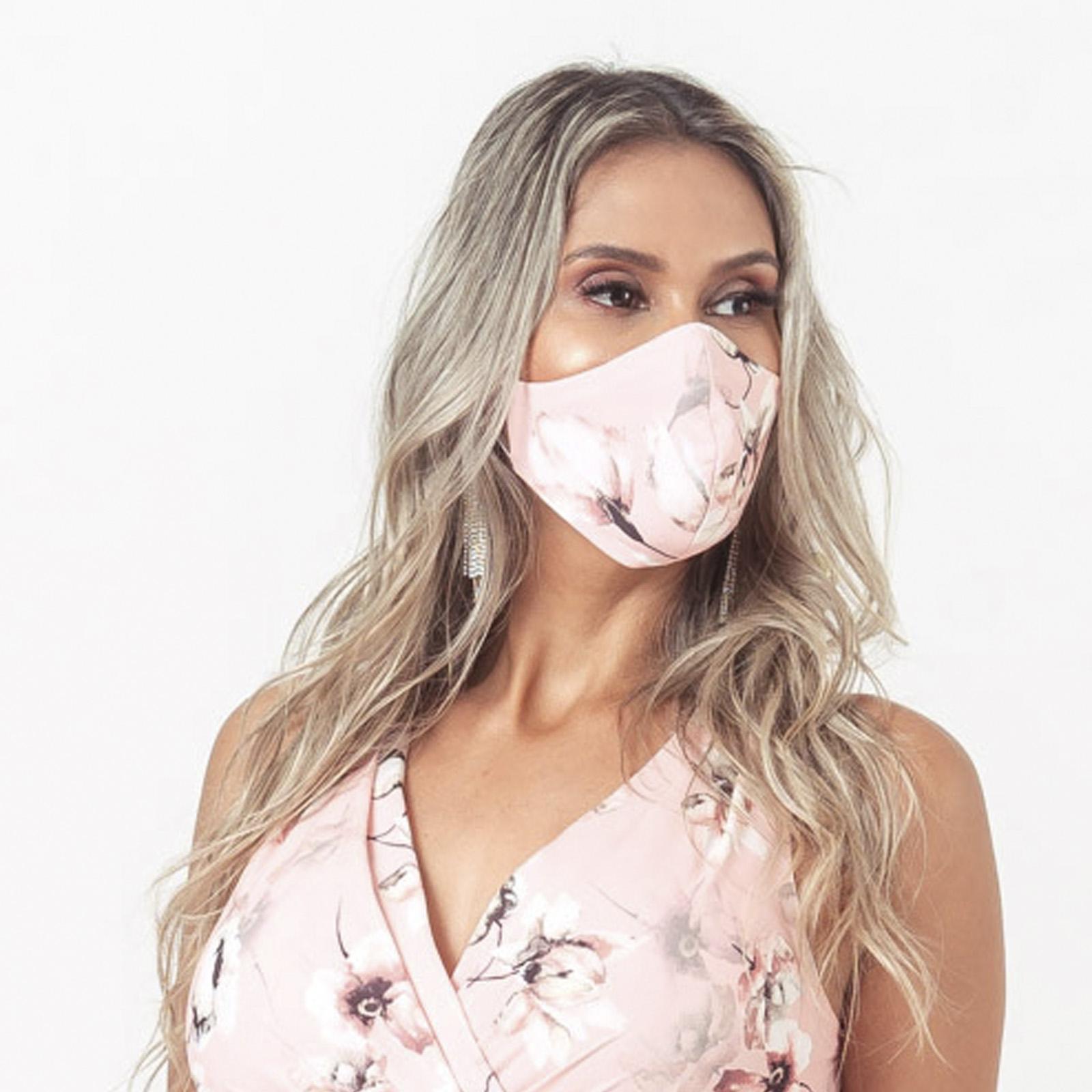 Máscara Estampada - ROSE