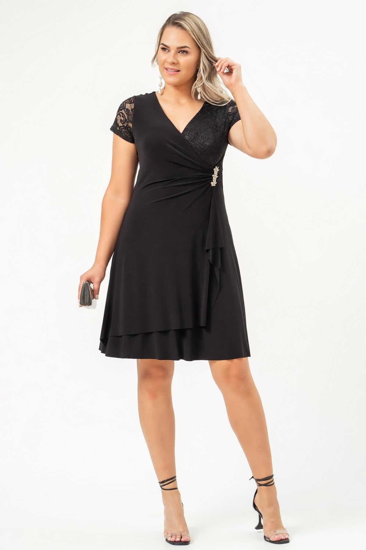Vestido Amanda - PRETO