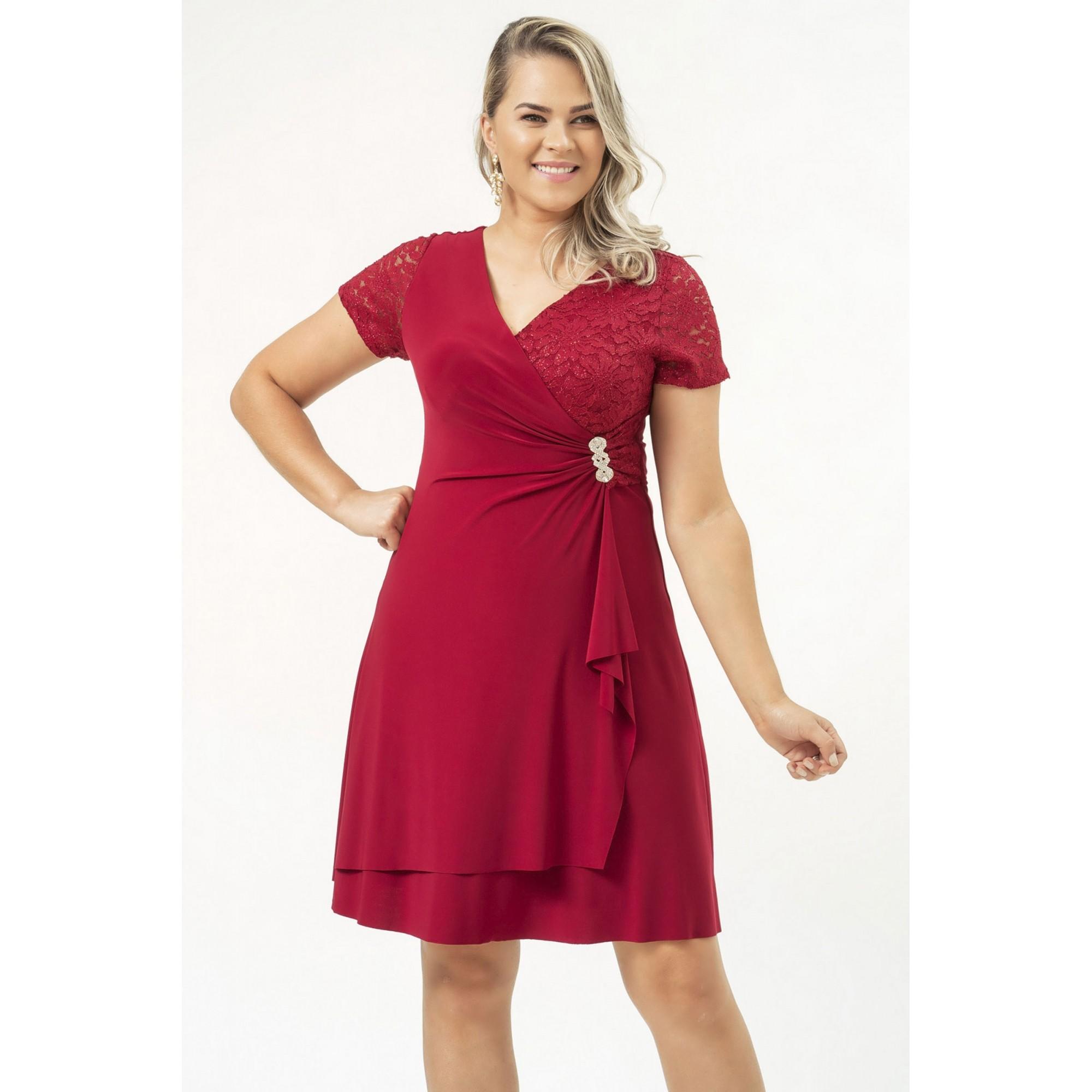 Vestido Amanda - VINHO
