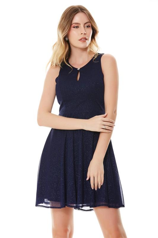 Vestido Chloe - MARINHO