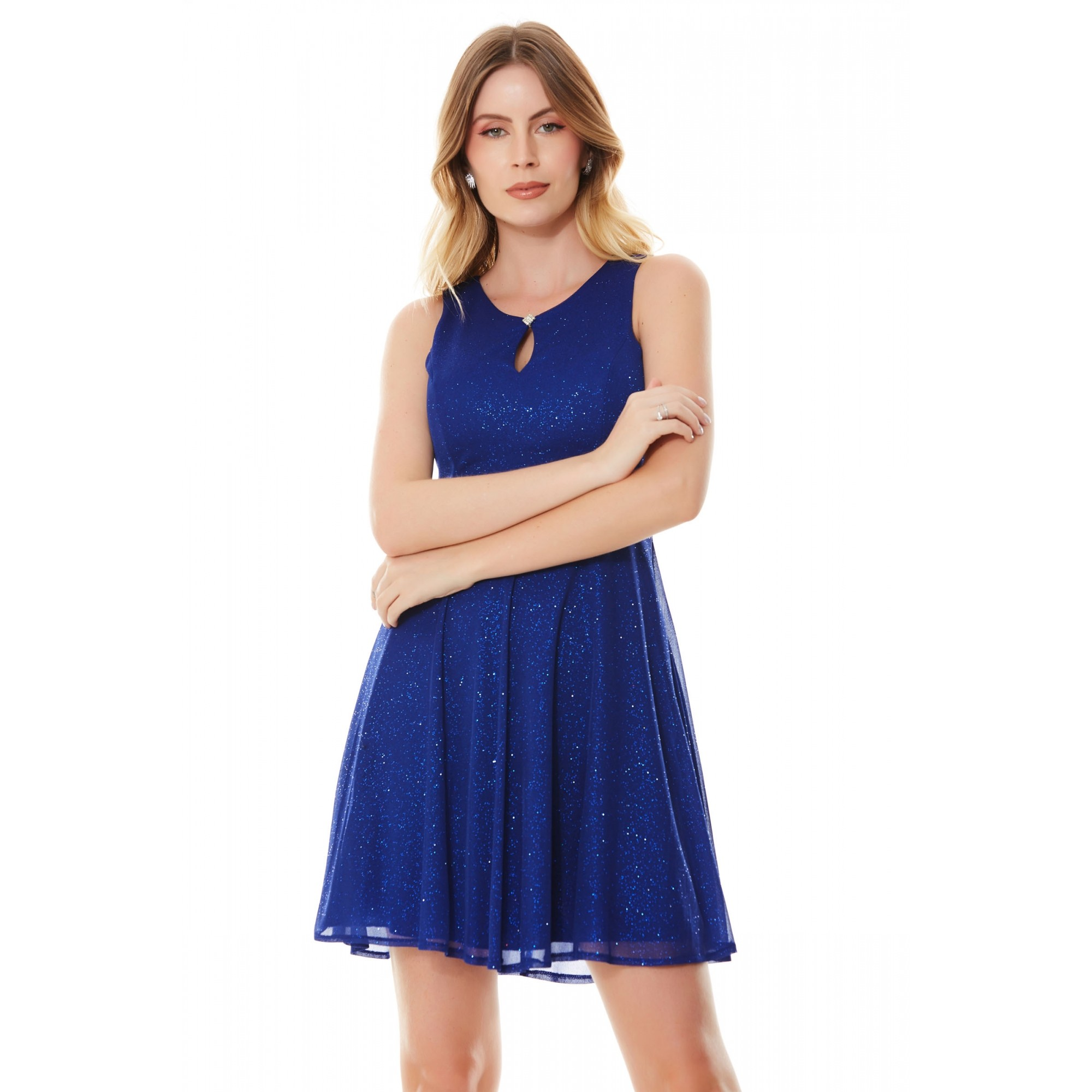 Vestido Chloe - ROYAL