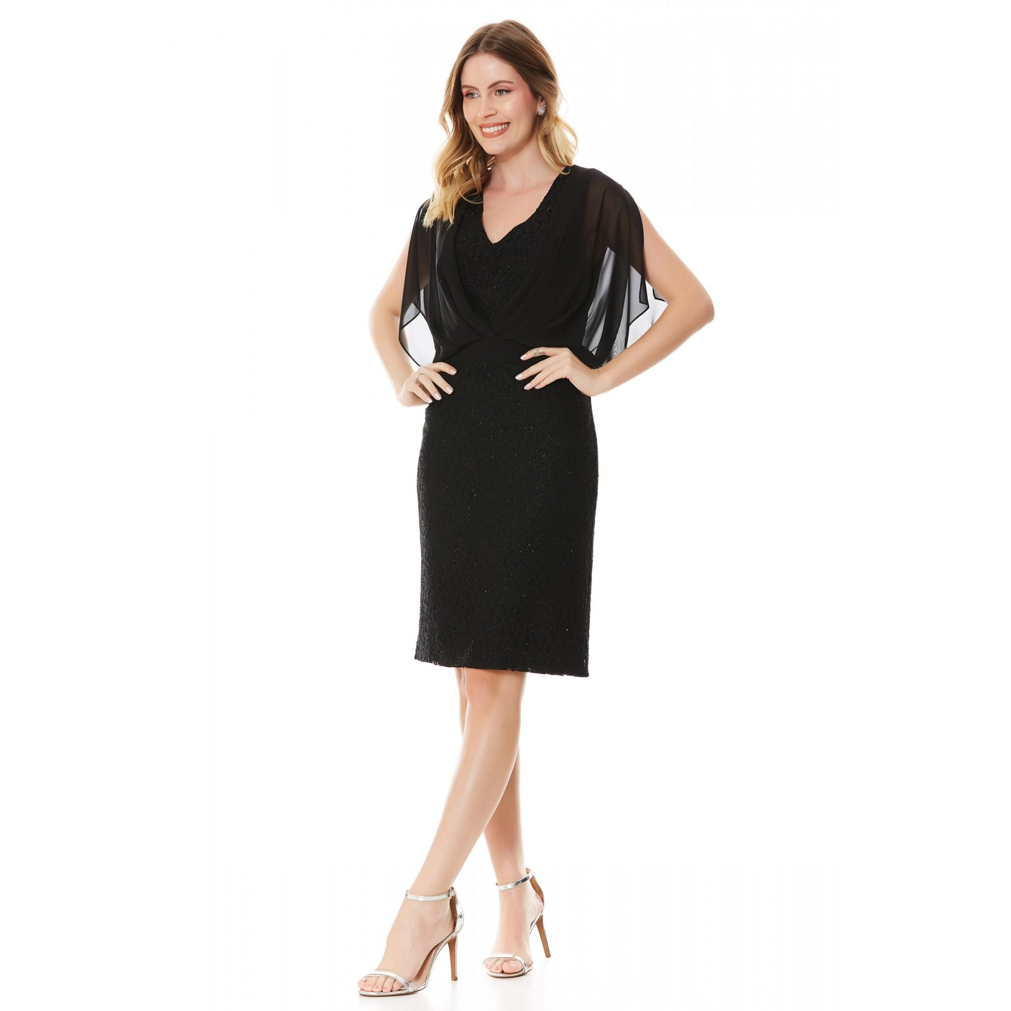 Vestido Donna - PRETO
