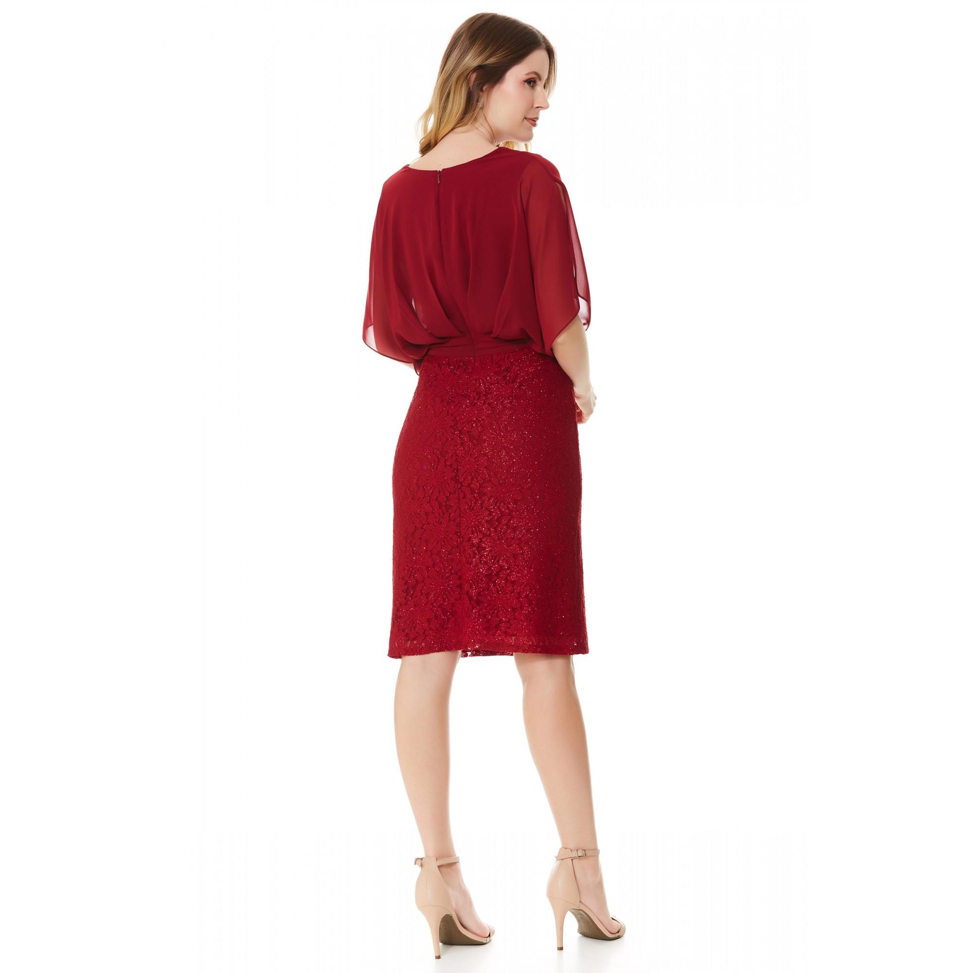 Vestido Donna - VINHO