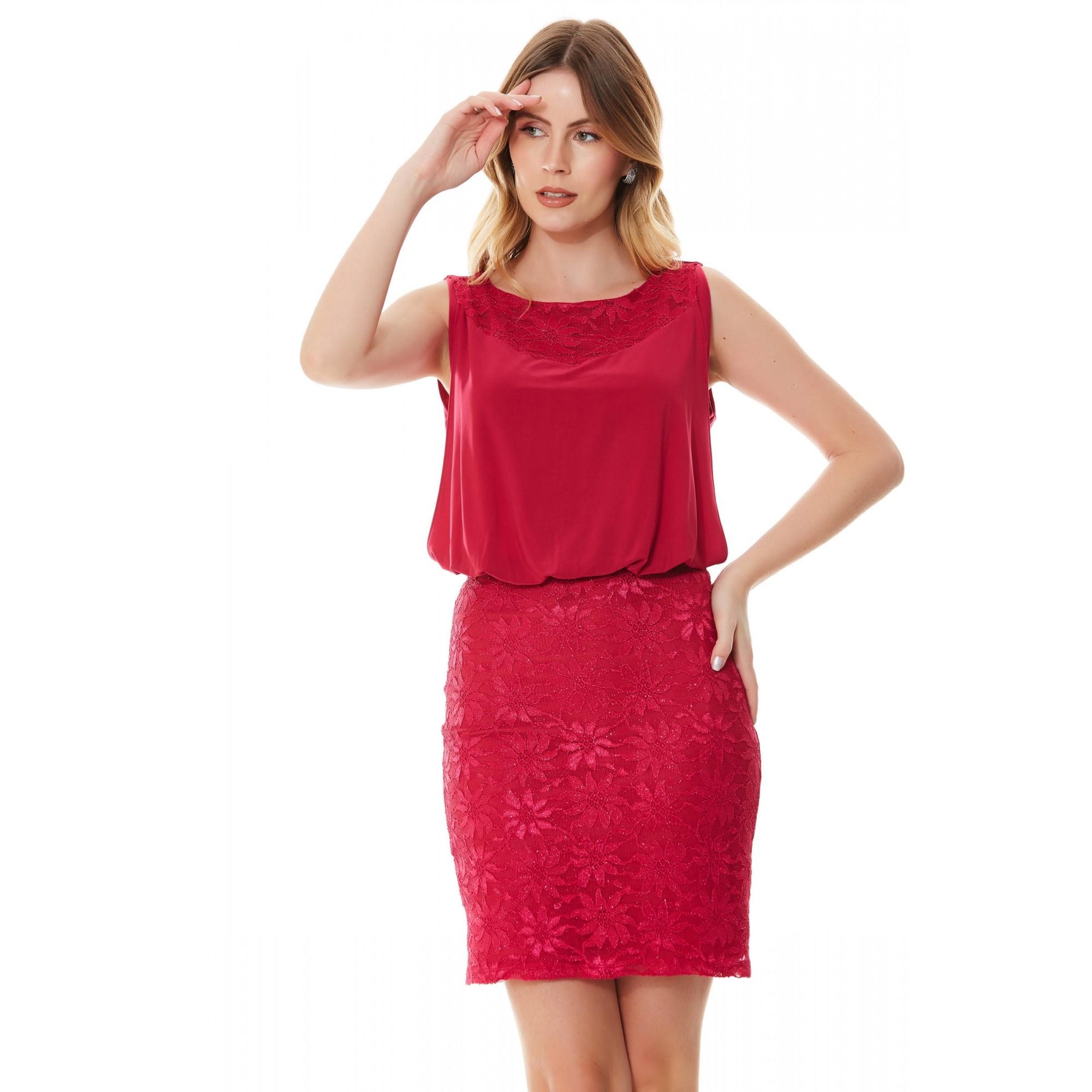 Vestido Ella - CHERRY