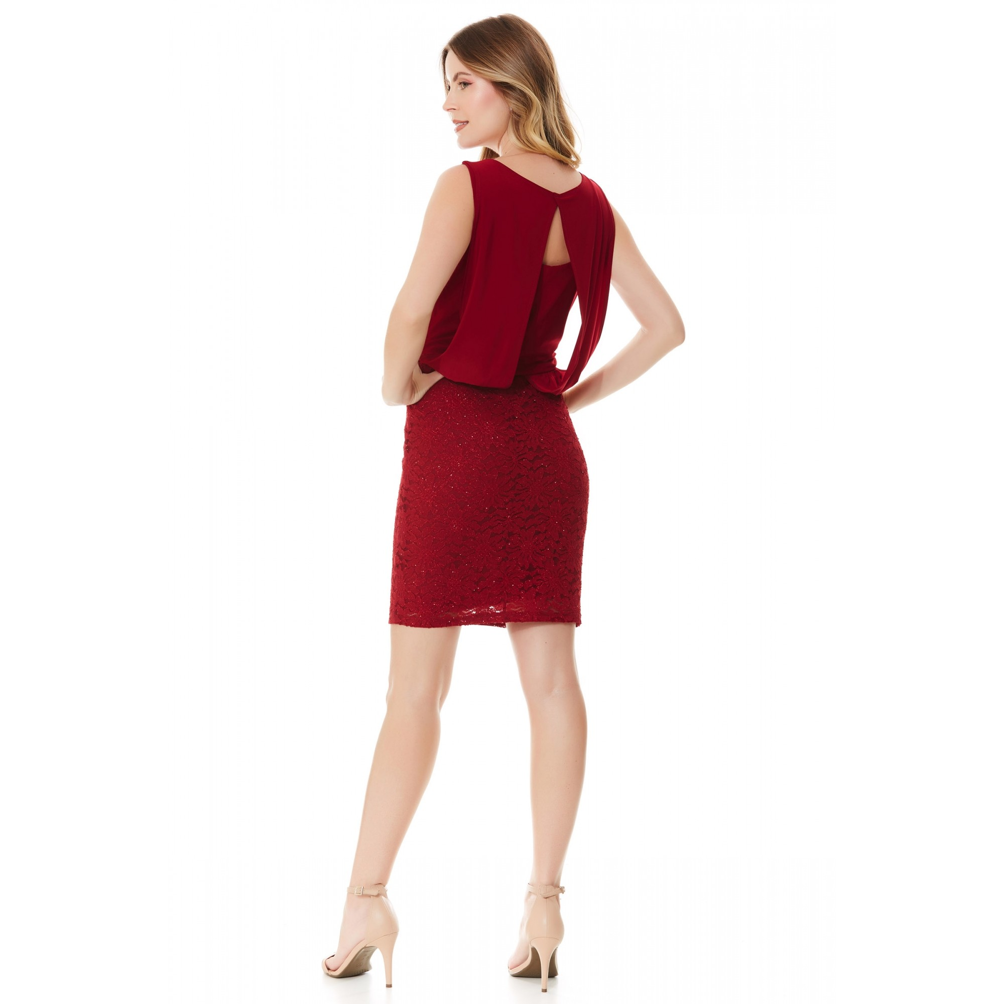 Vestido Ella - VINHO