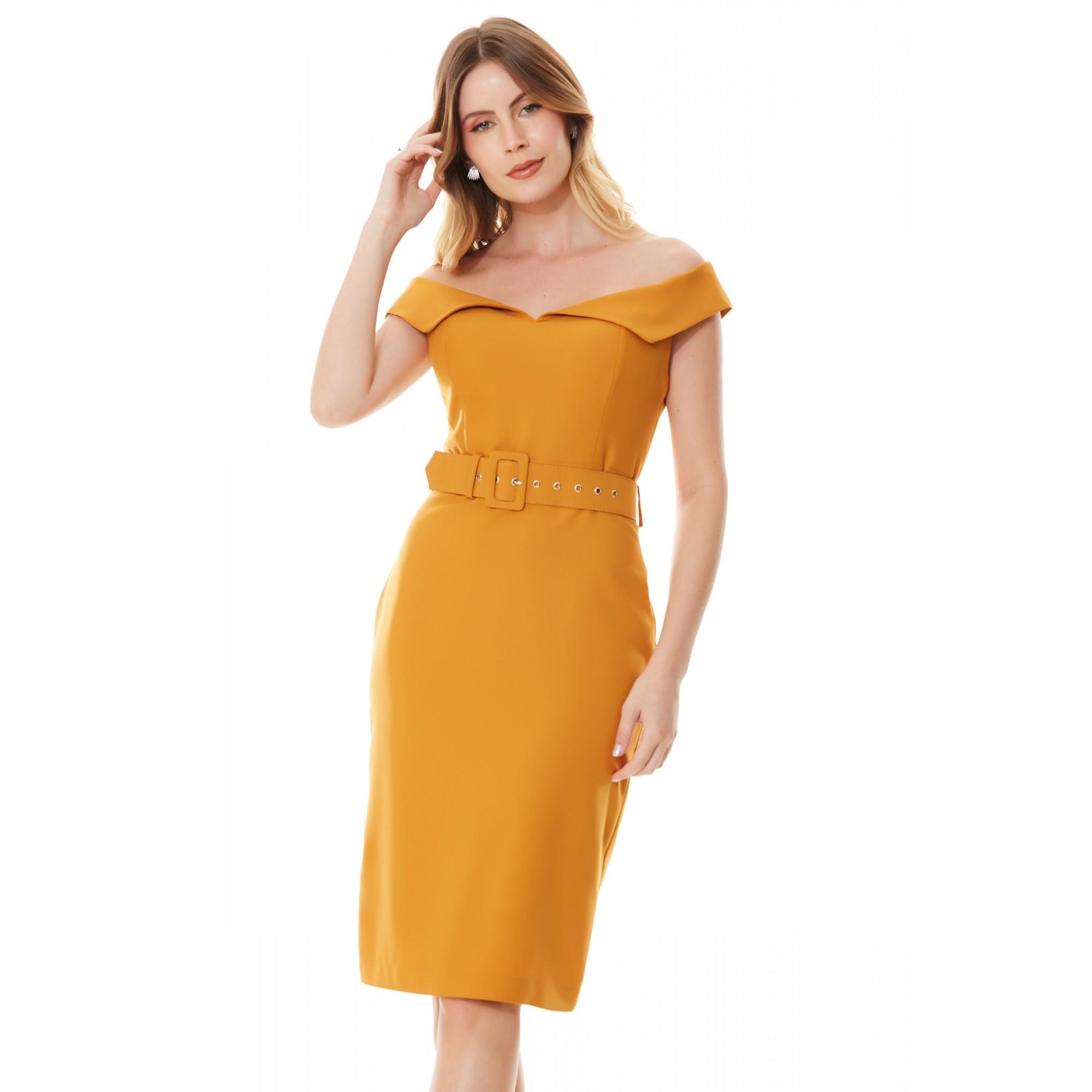 Vestido Emma - MOSTARD