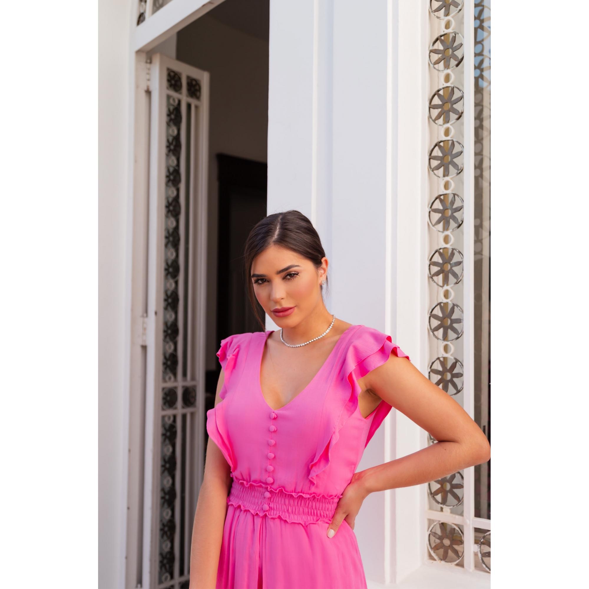 Vestido Flora - PINK