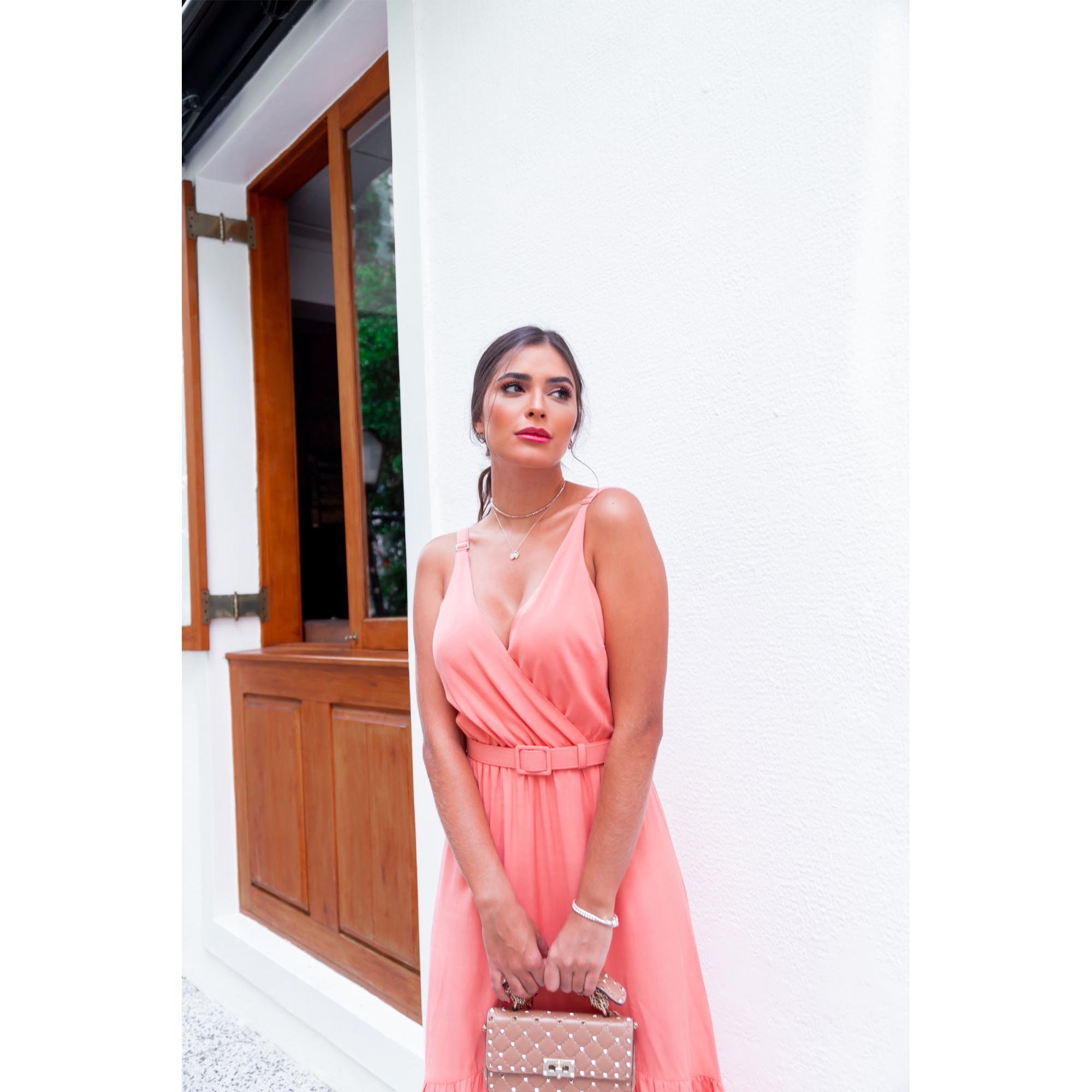 Vestido Gabi - CORAL