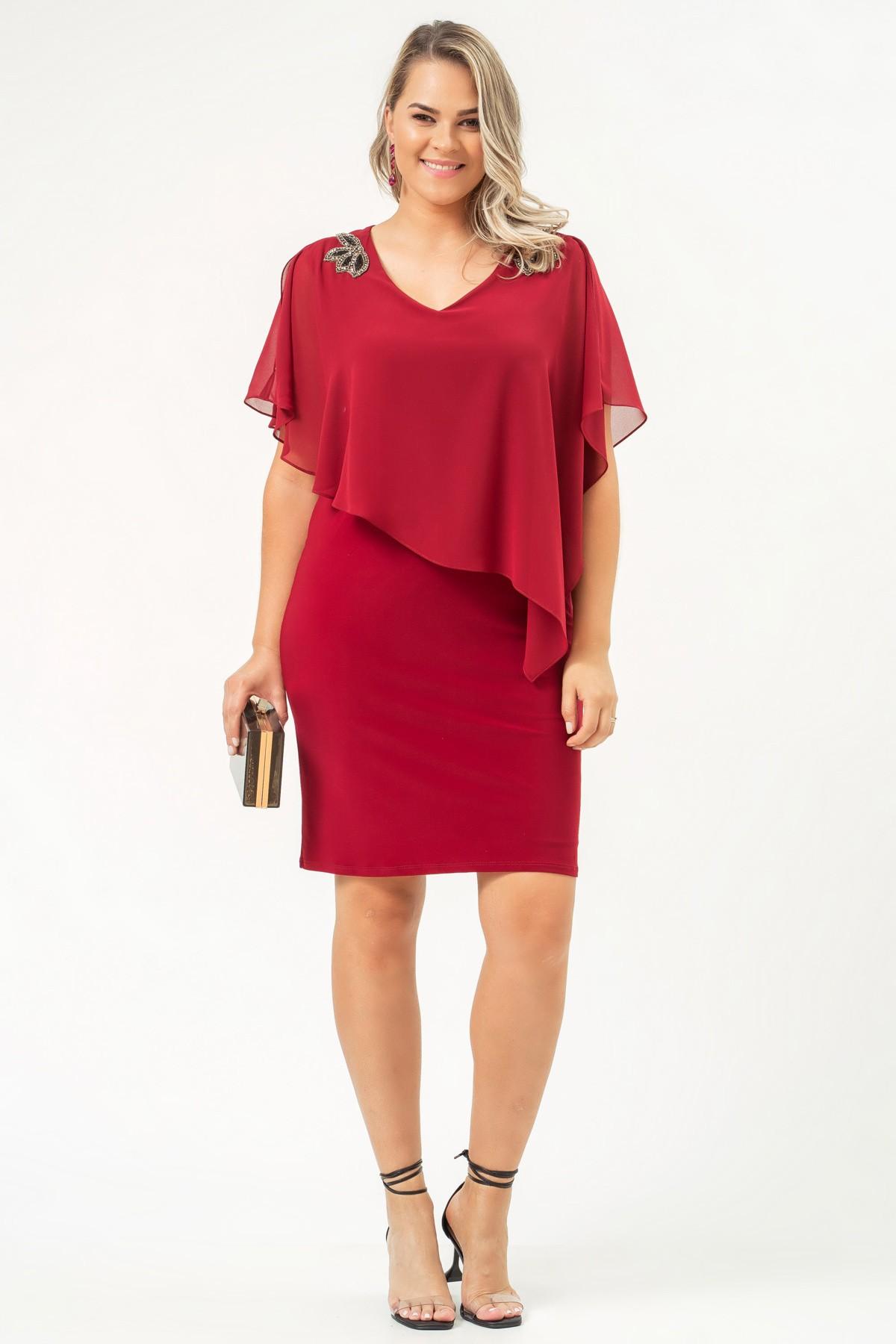 Vestido Grace - VINHO