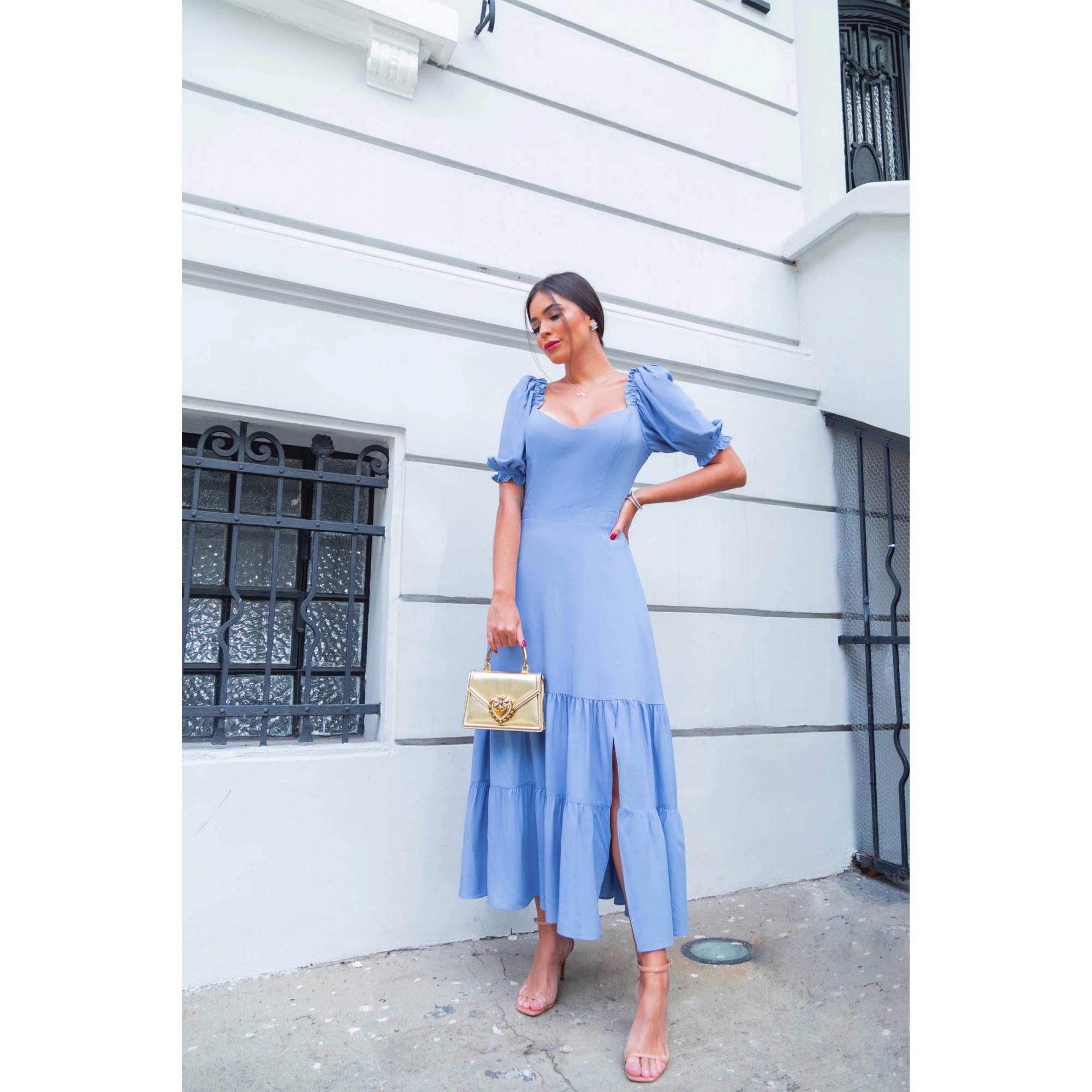 Vestido Jaqueline - AZUL