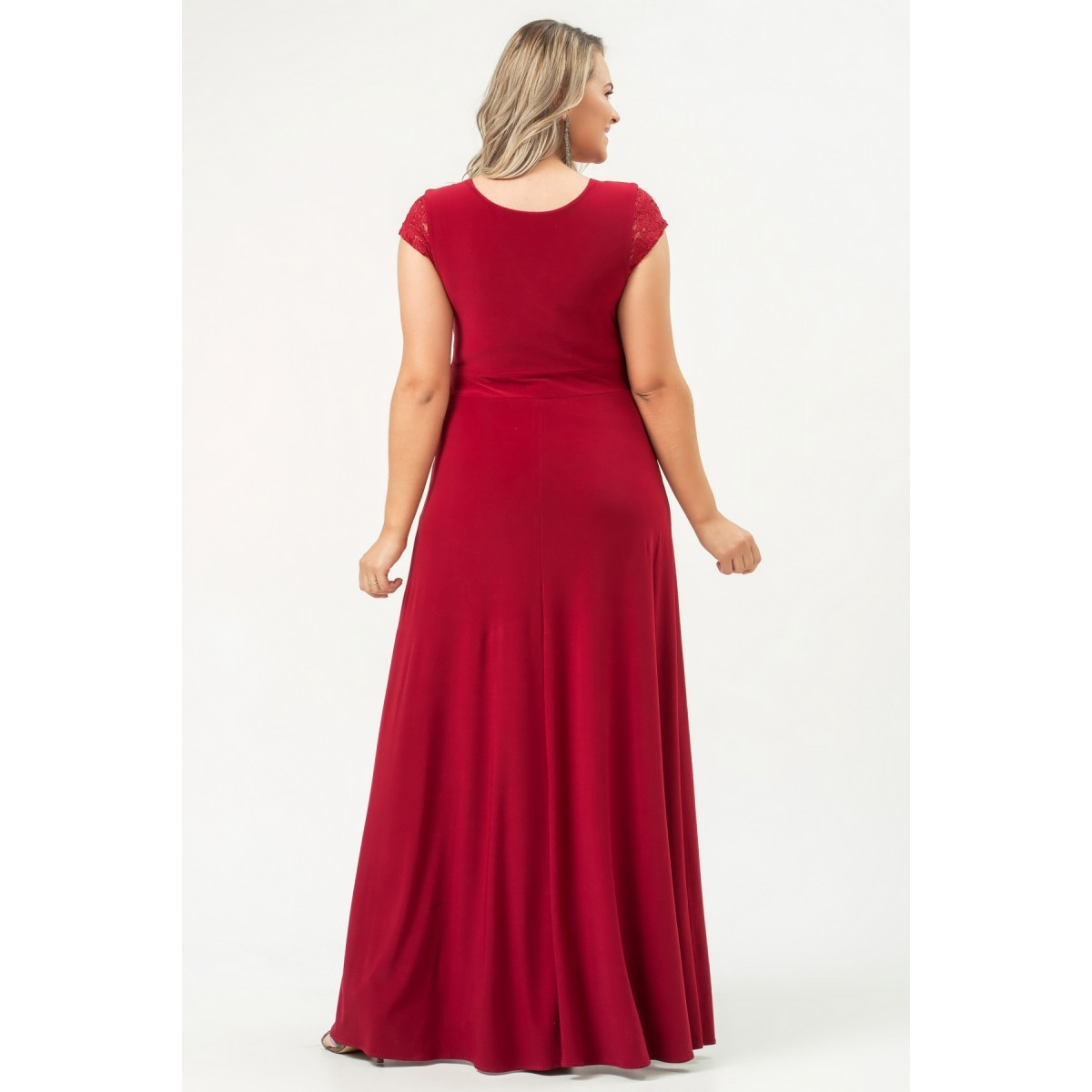 Vestido Lana - VINHO