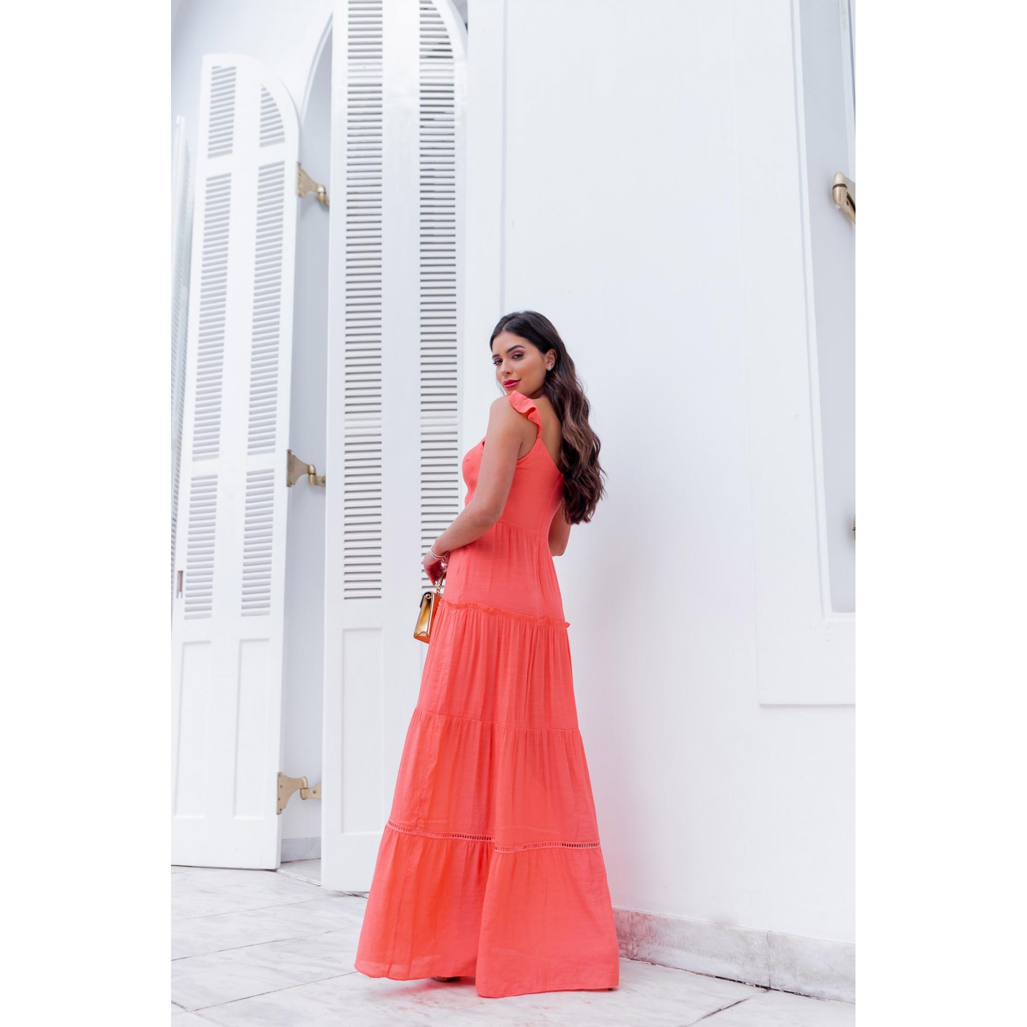 Vestido Livy - CORAL