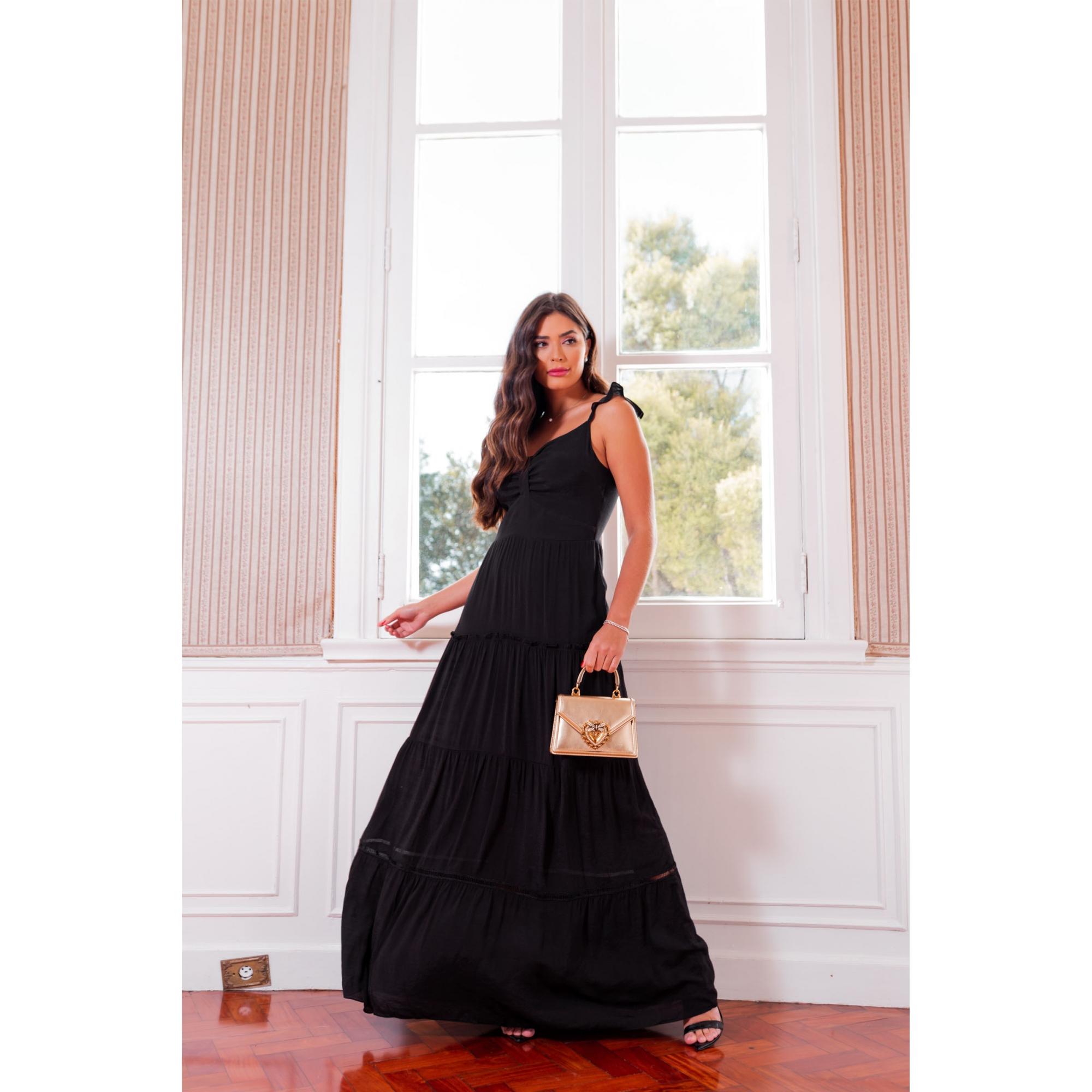 Vestido Livy - PRETO