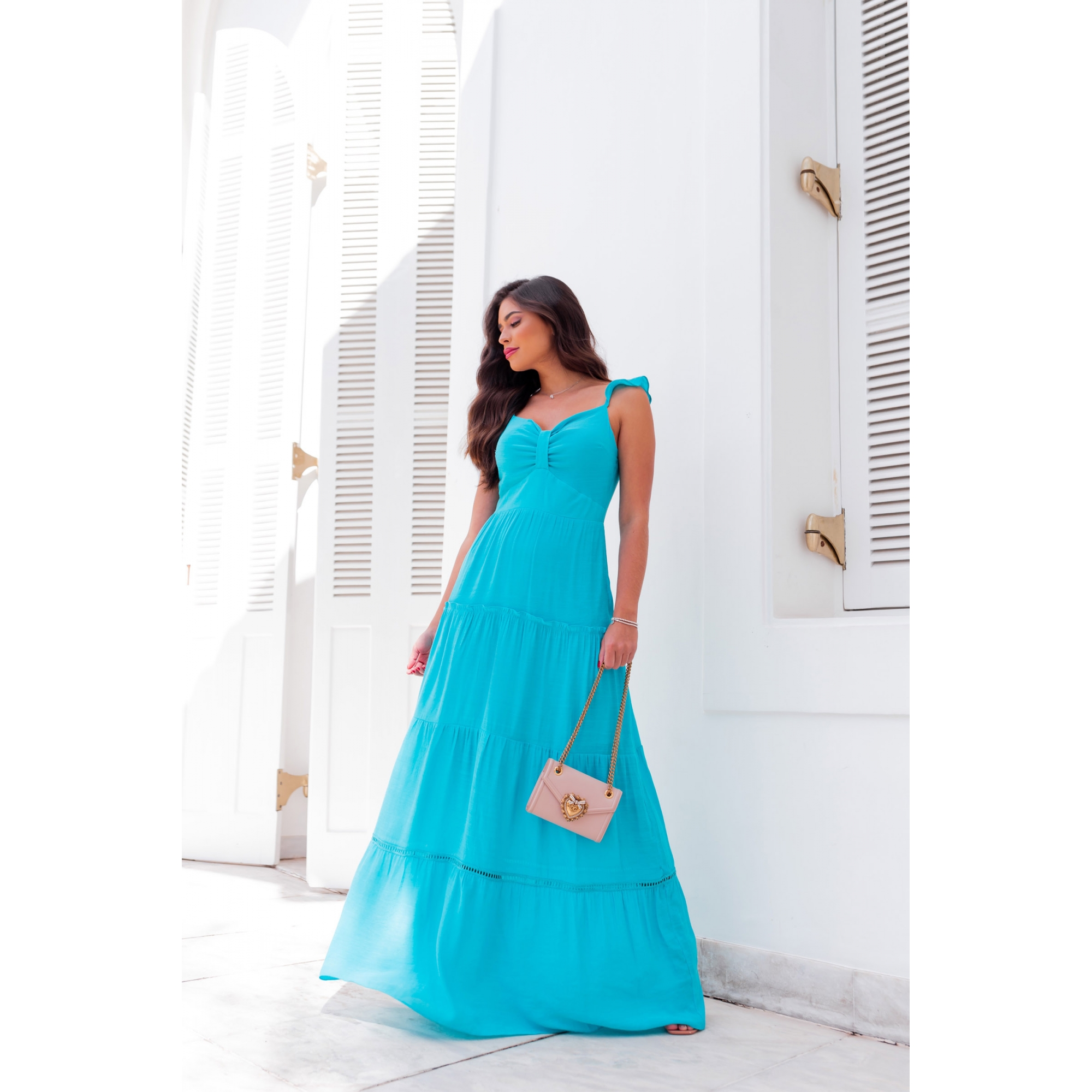 Vestido Livy - TURQUESA