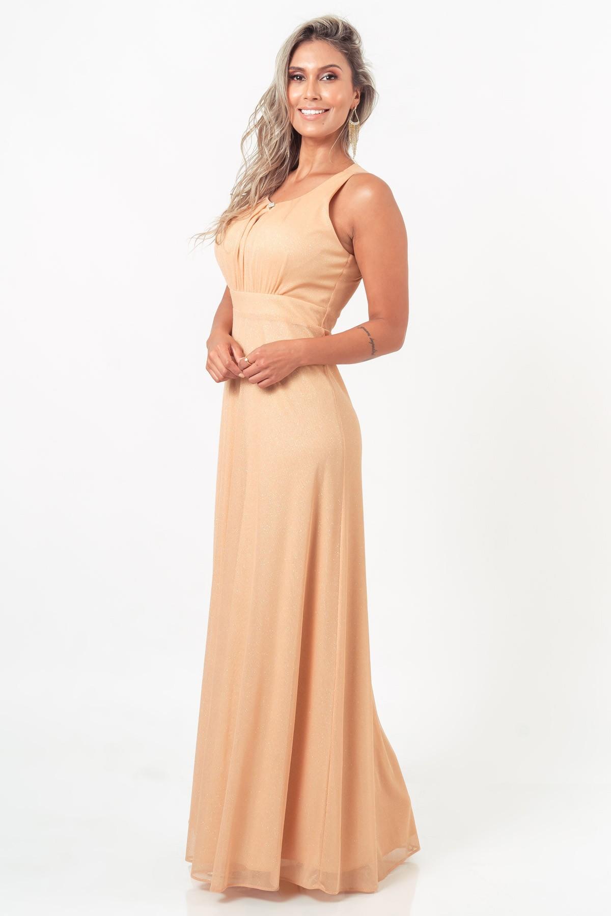 Vestido Liz - DOURADO