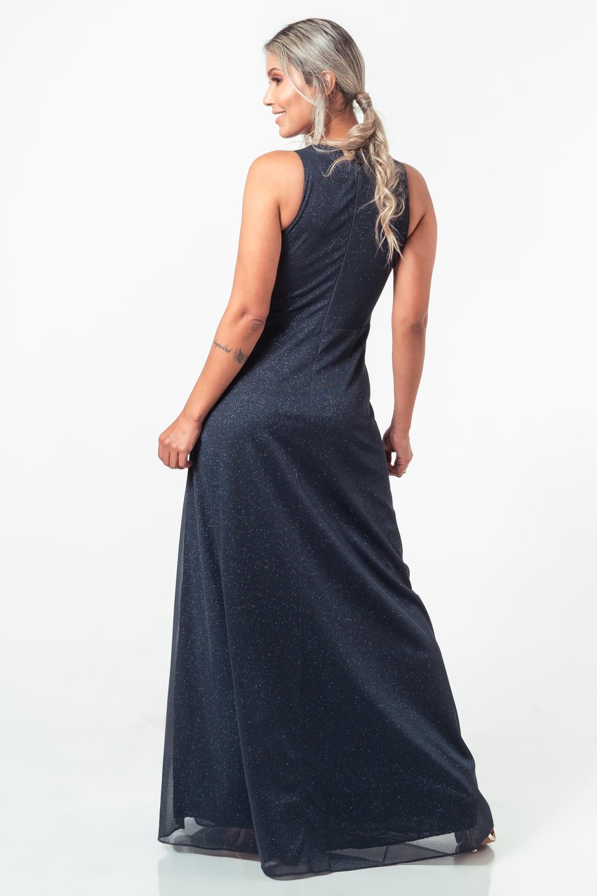 Vestido Liz - MARINHO