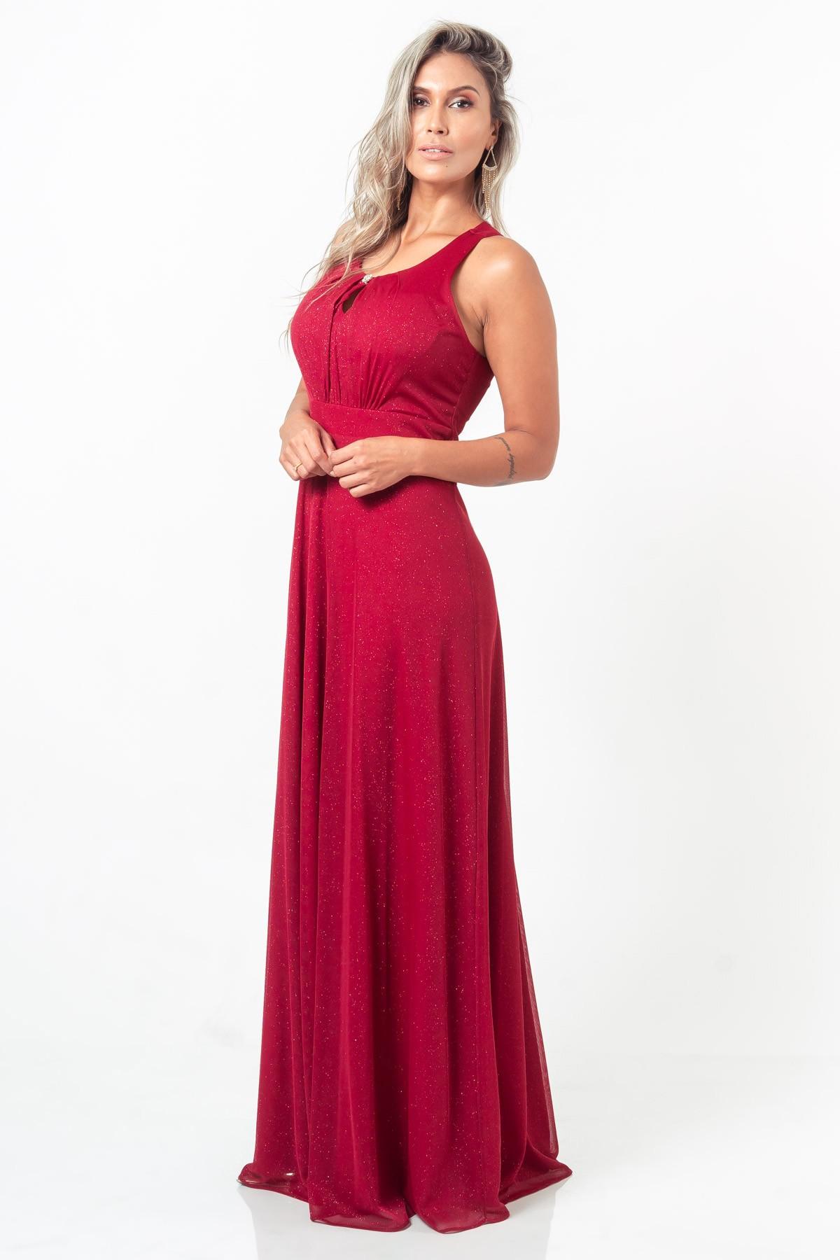 Vestido Liz - VINHO