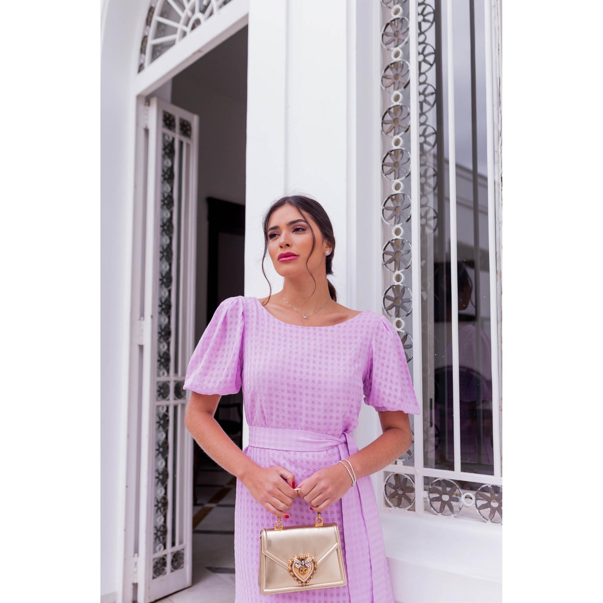 Vestido Mara - LILÁS