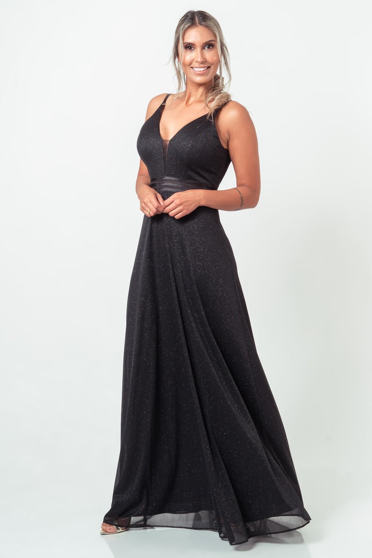Vestido Mariah - PRETO