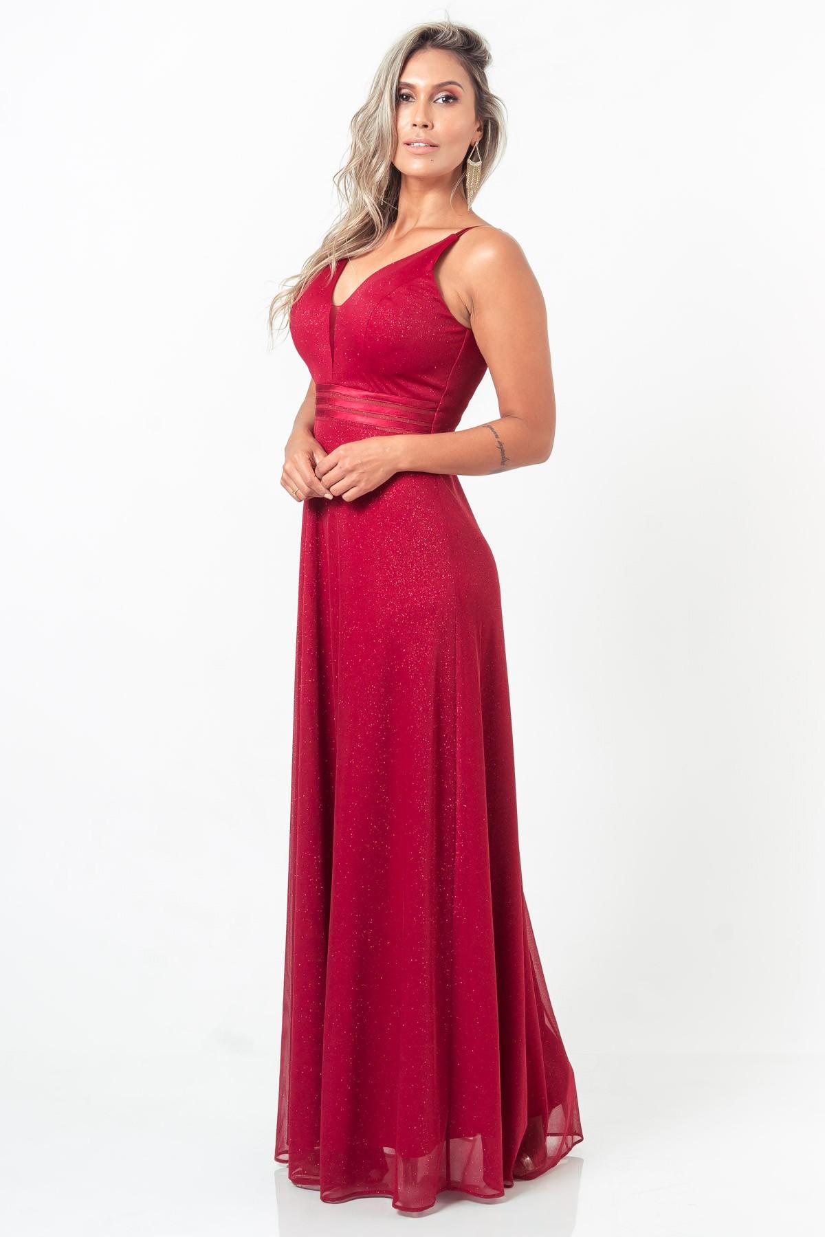Vestido Mariah - VINHO