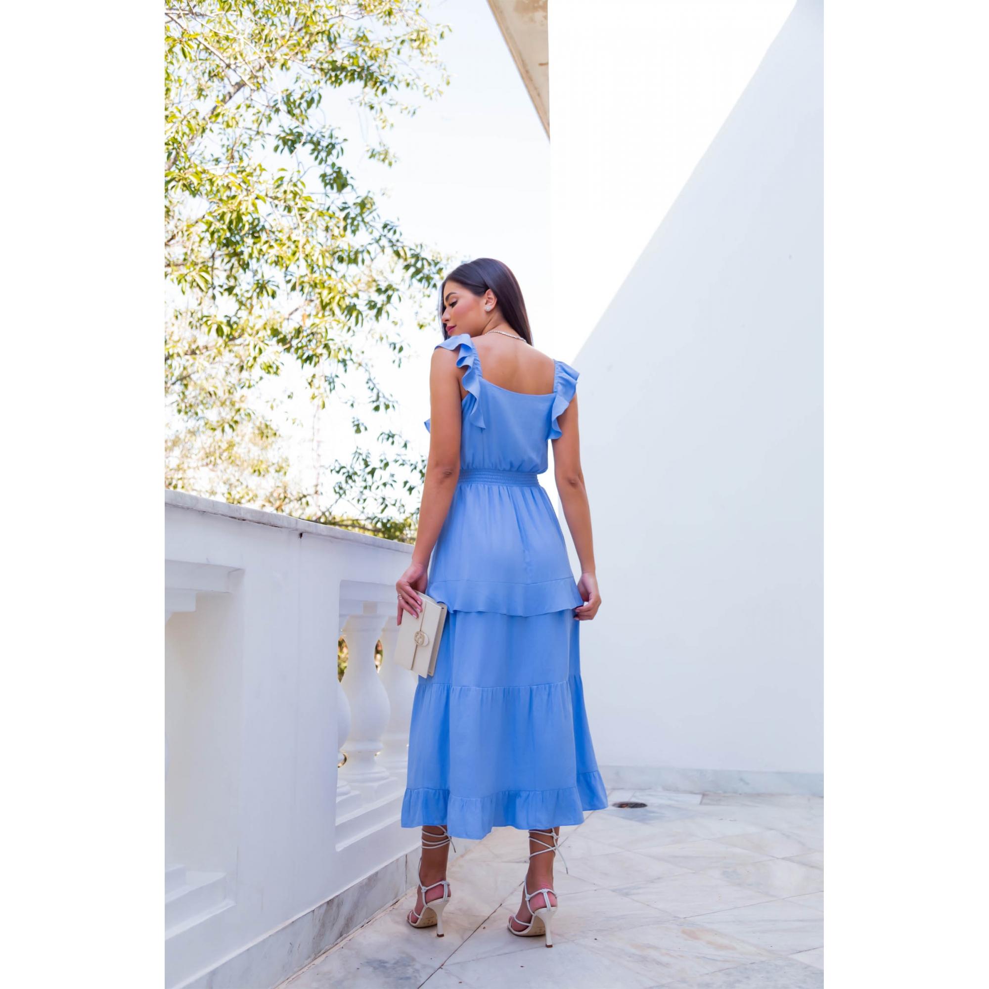 Vestido Marina - AZUL