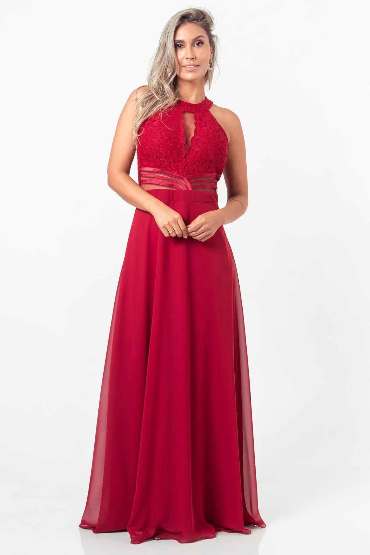 Vestido Maya - VINHO