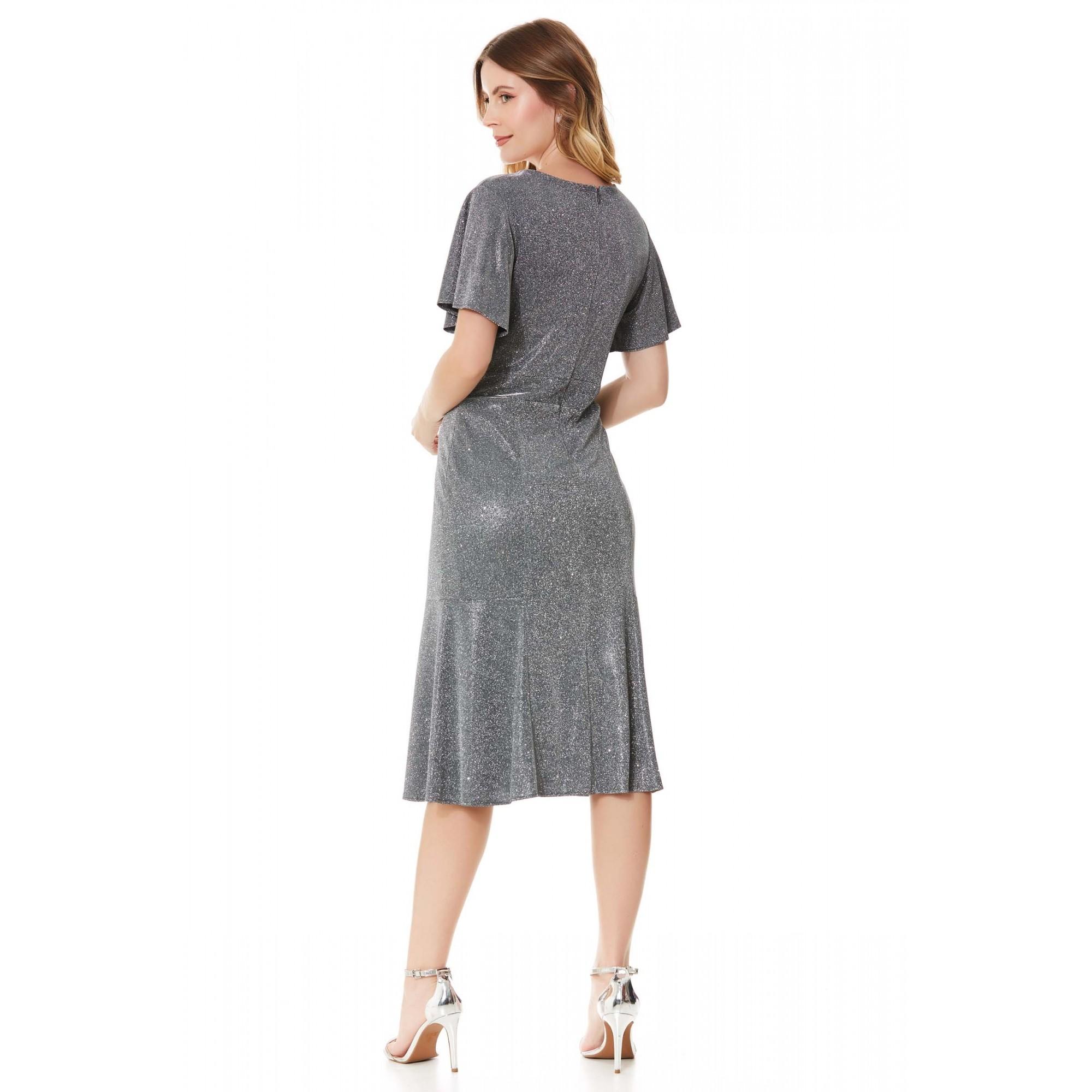 Vestido Megan - PRATA