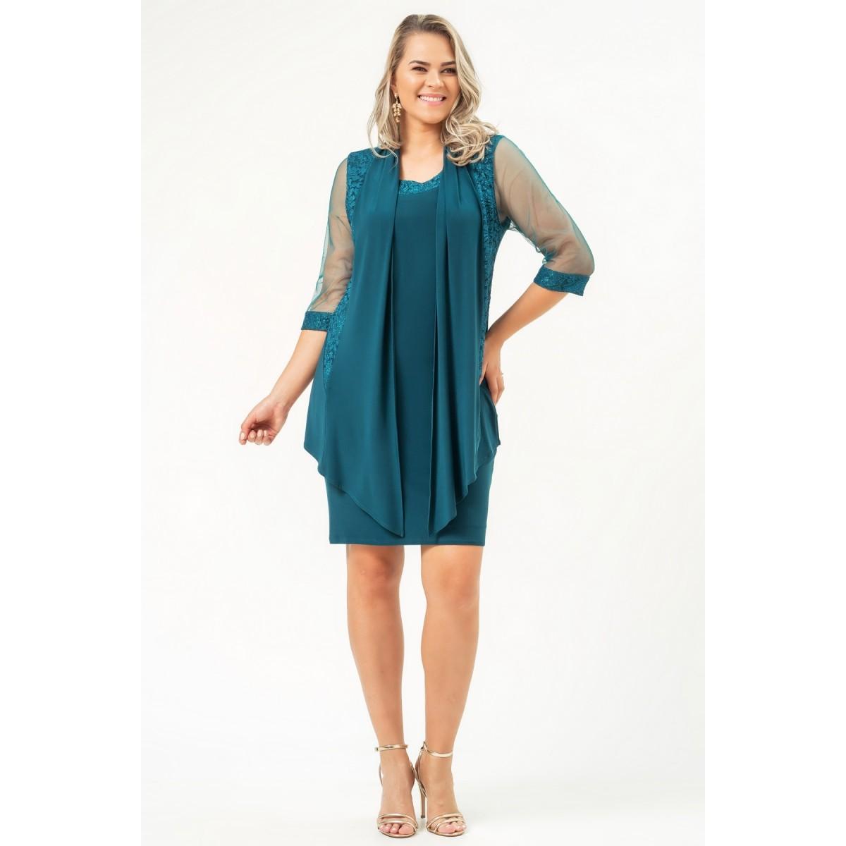 Vestido Melanie - PETROLEO