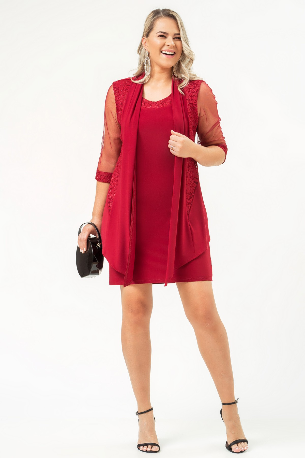 Vestido Melanie - VINHO