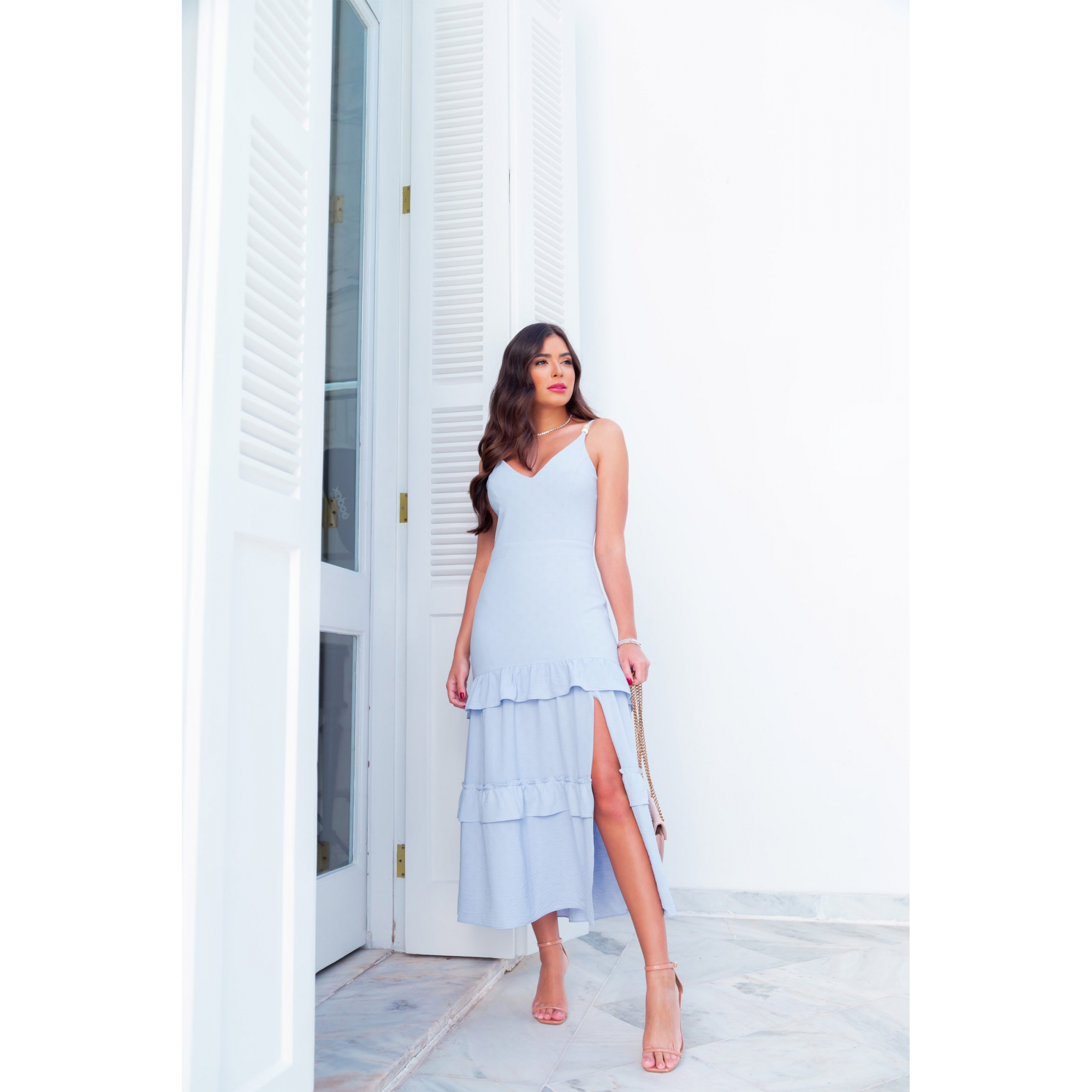 Vestido Melissa - AZUL