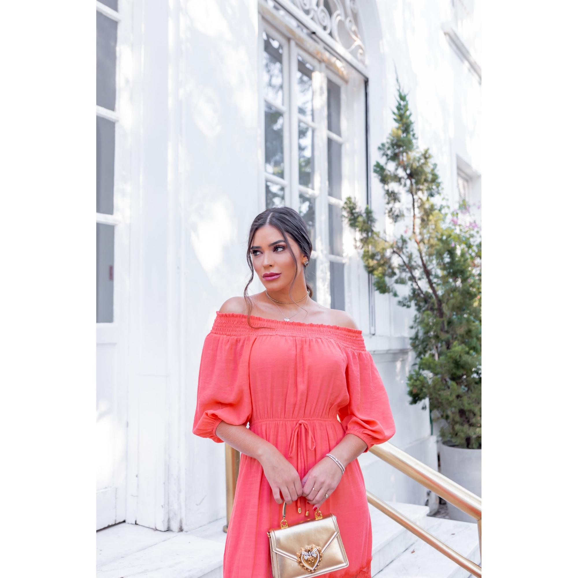 Vestido Naya - CORAL