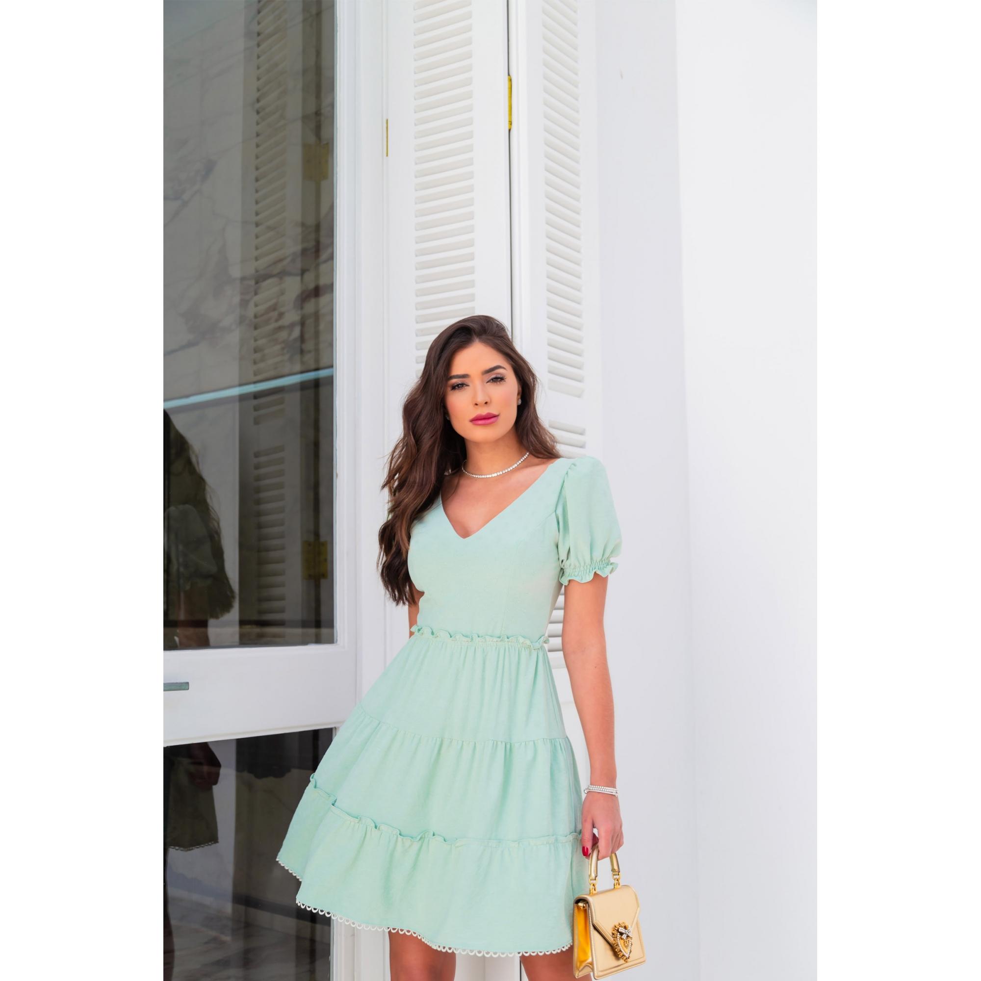 Vestido Nicole - MINT