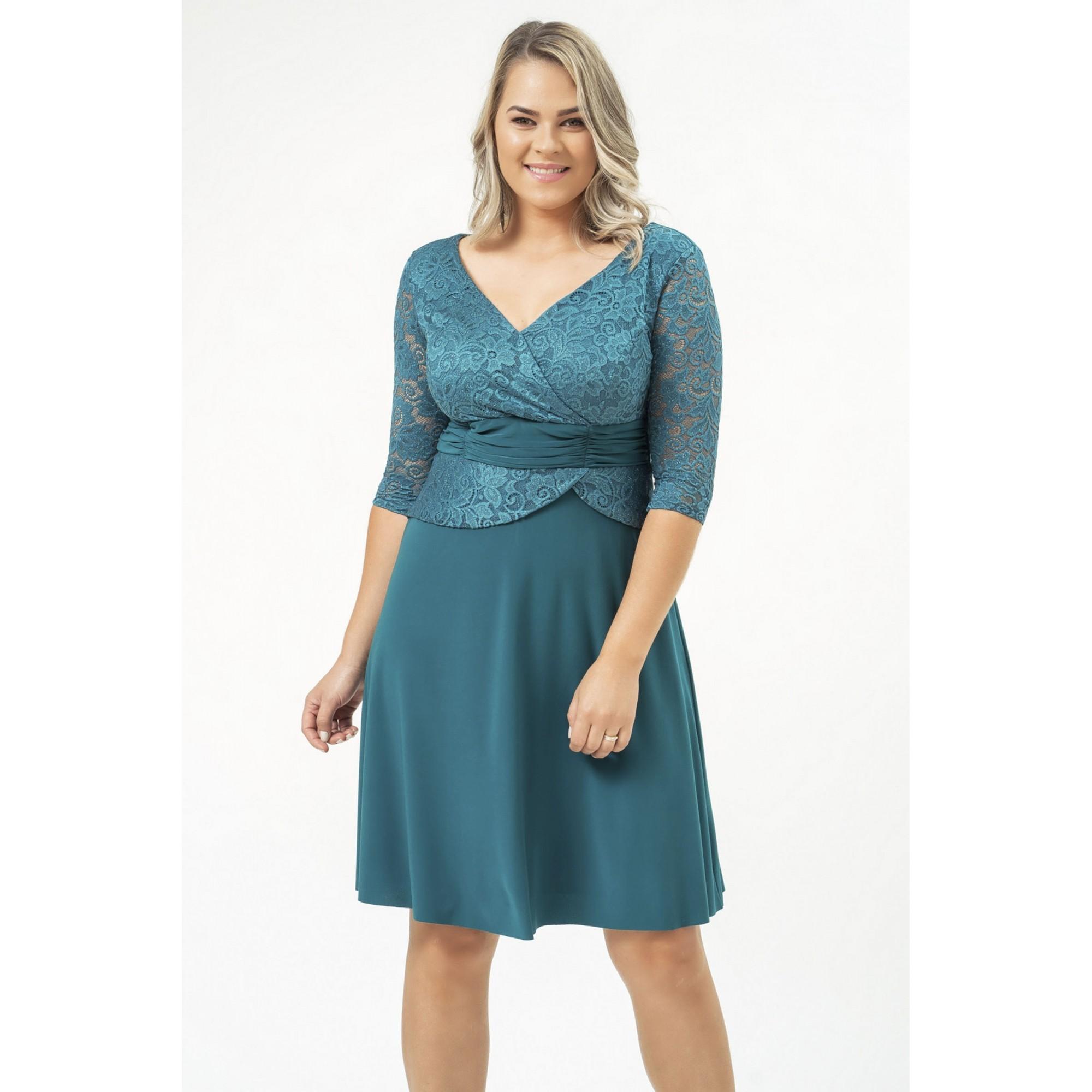 Vestido Ruth - PETROLEO