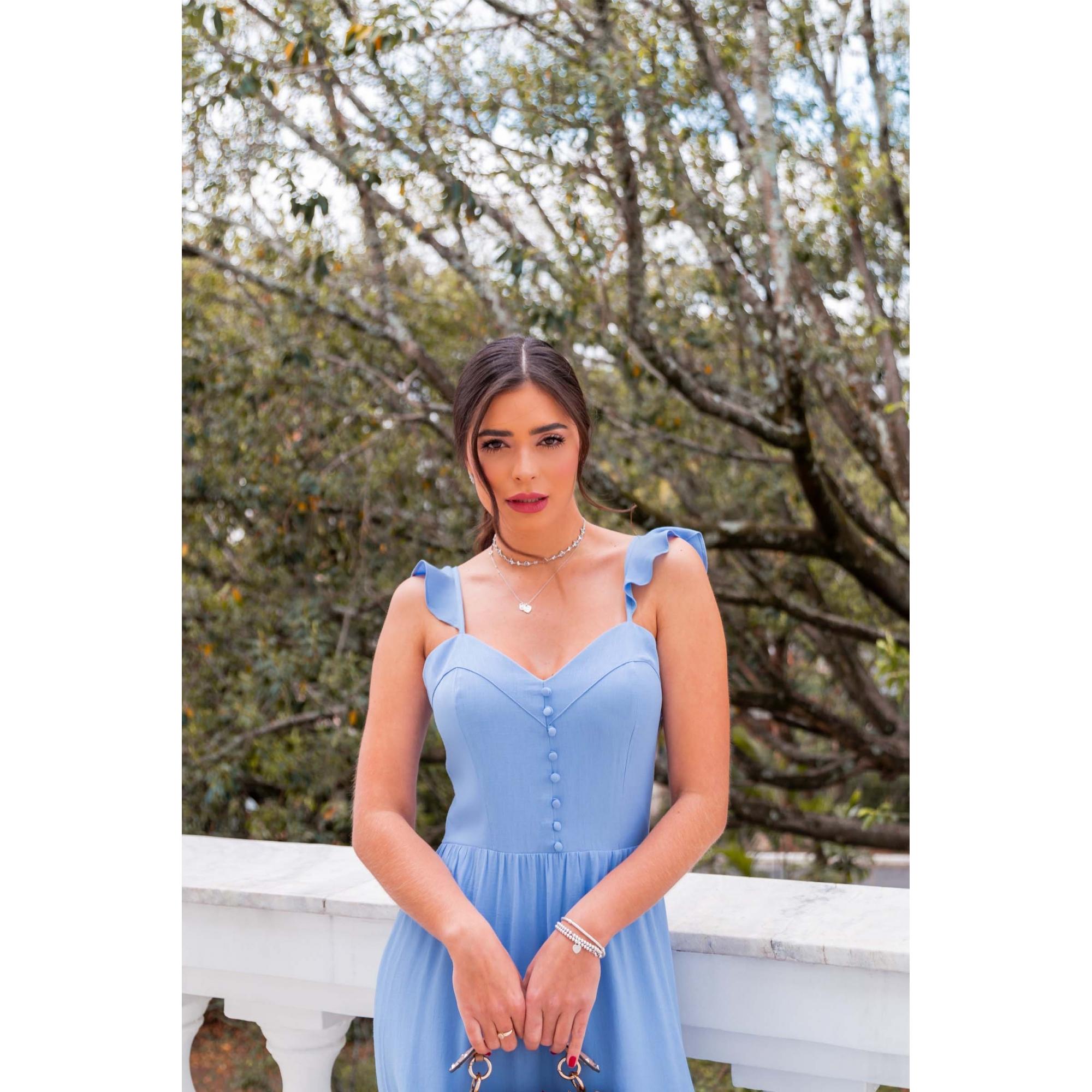 Vestido Sara - AZUL