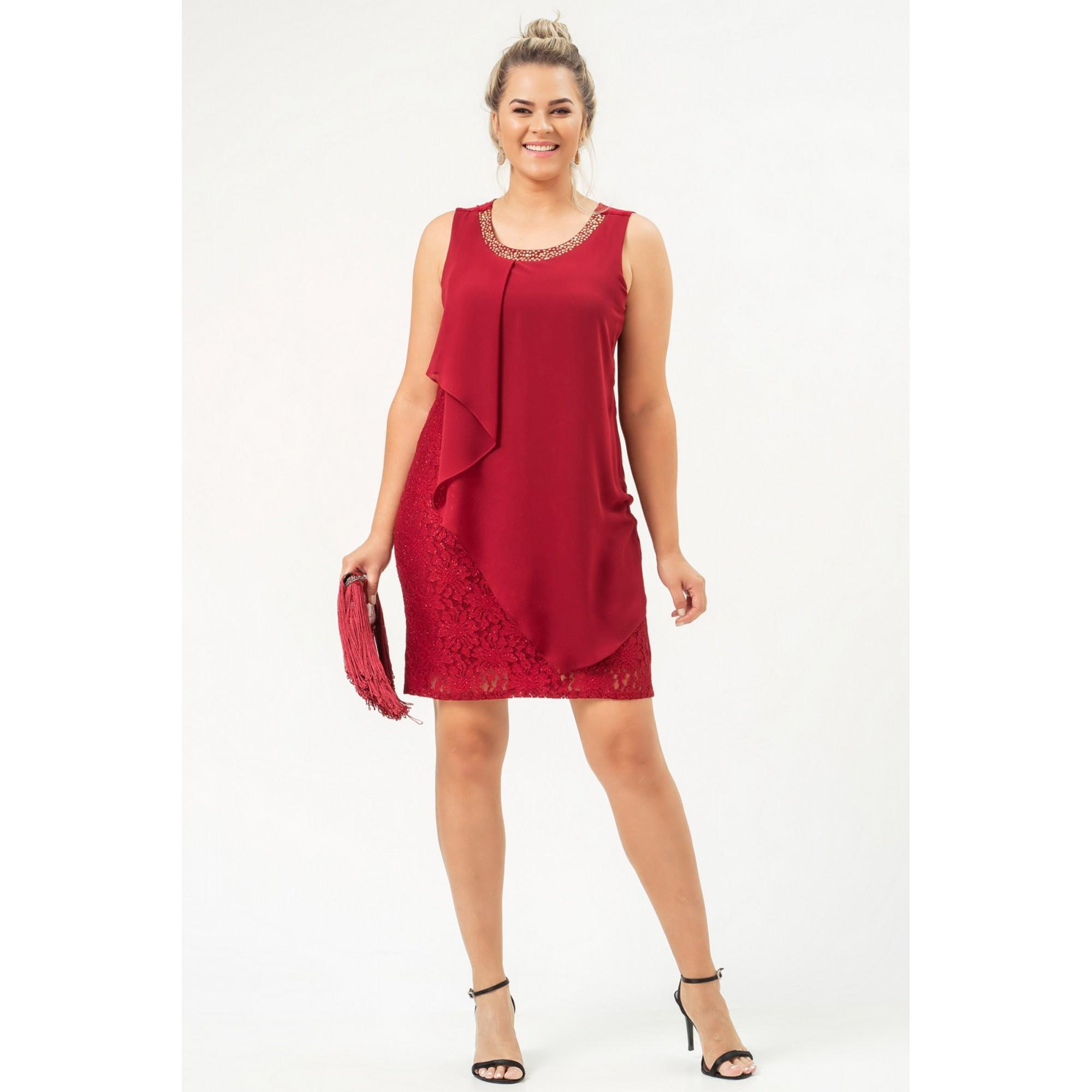 Vestido Serena - VINHO