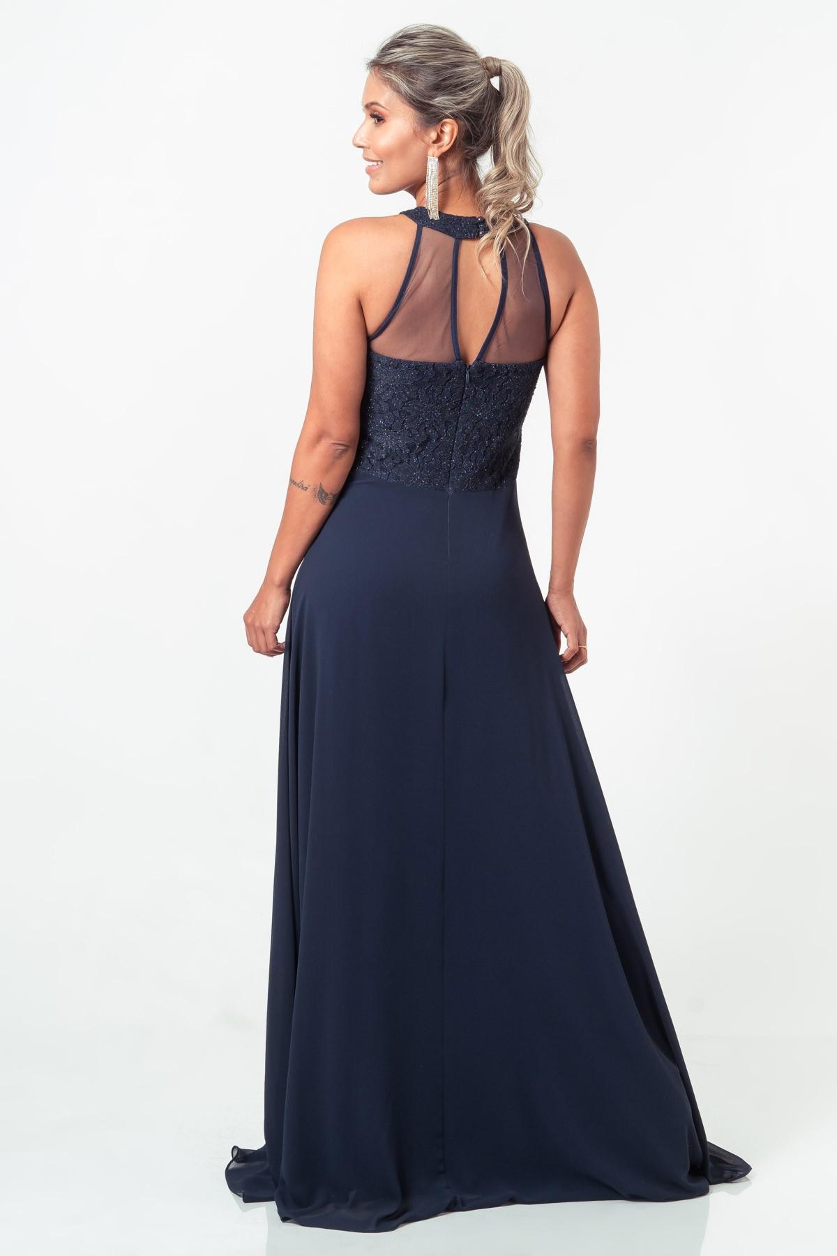 Vestido Sophie - MARINHO
