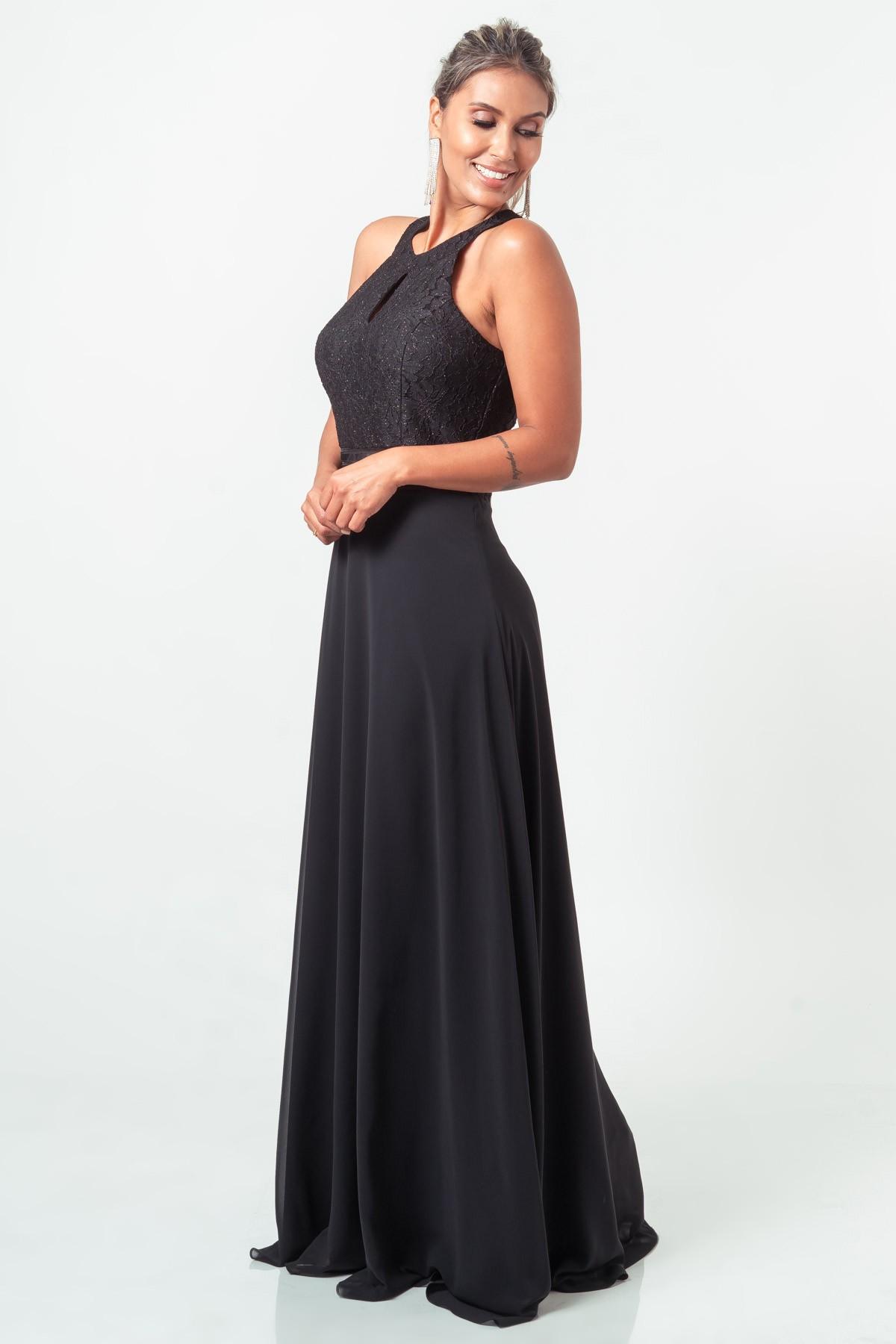 Vestido Sophie - PRETO