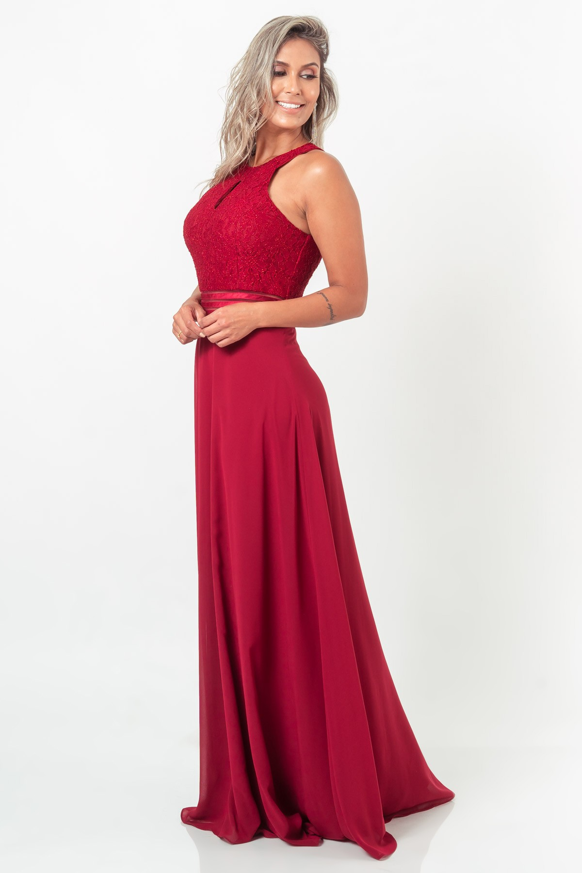 Vestido Sophie - VINHO