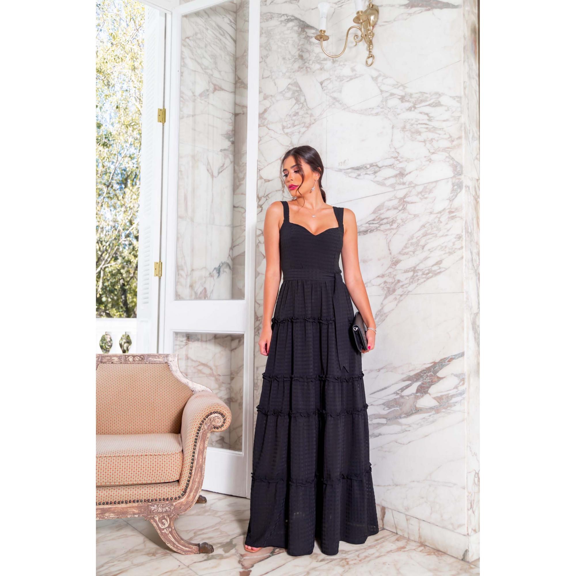 Vestido Veronica - PRETO