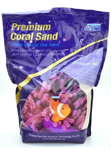 Aqua Ocean Substrato Premium Coral Sand 5Kg