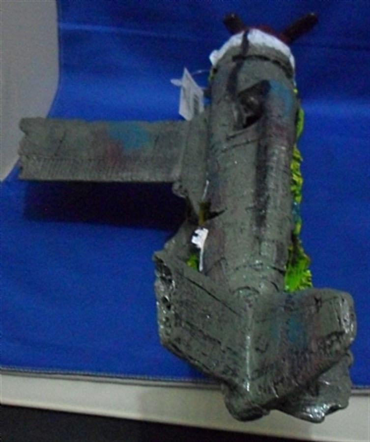 Aquária Enfeite de resina Avião Grande (D-21)