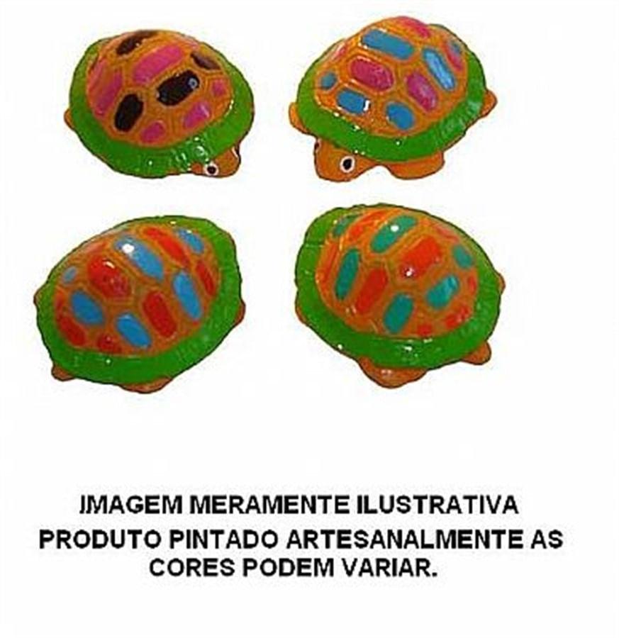 Aquária Enfeite de Resina Jaboti p/ Mão 4 peças (A-19)