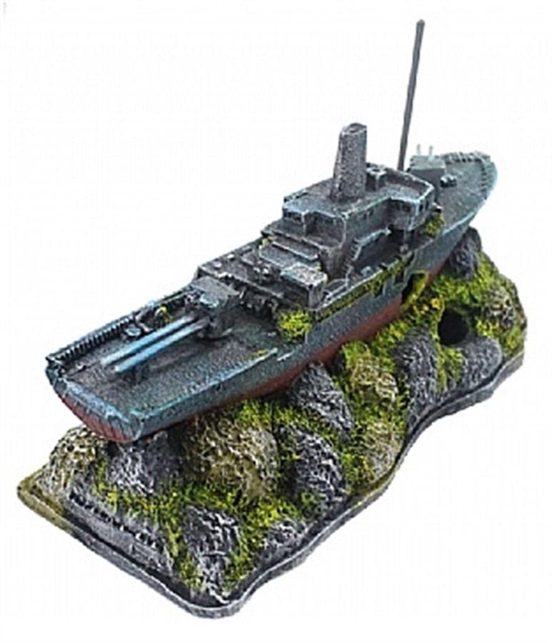 Aquária Enfeite de Resina Vapor (Destroyer) (B-22)