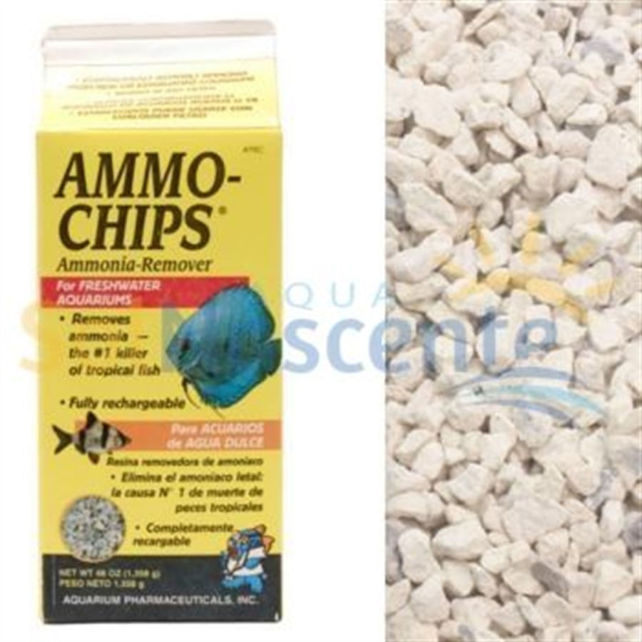 Aquarium Pharmaceuticals Ammo-Chips 737grs