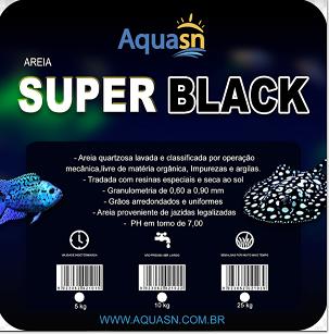 Aquasn Areia Super Black