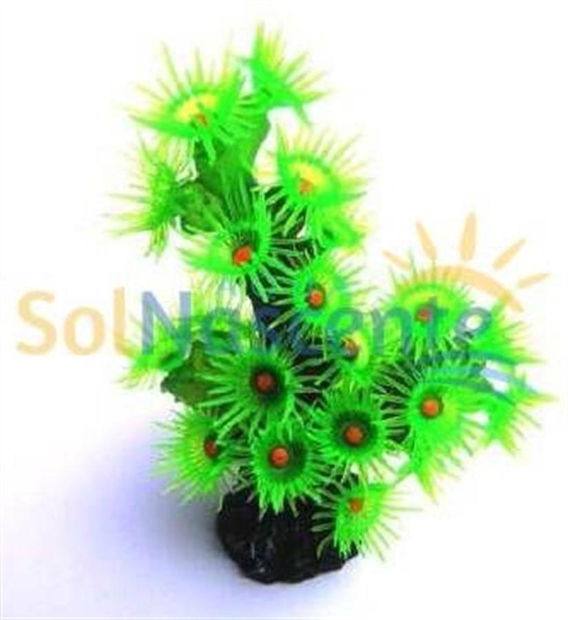 Artificial Coral Reef Coral Sun Polipos Verdes