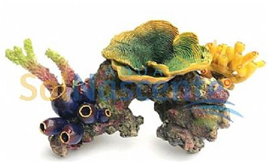 Artificial Coral Reef Modelo B2(Enfeite de Silicone e Resina)