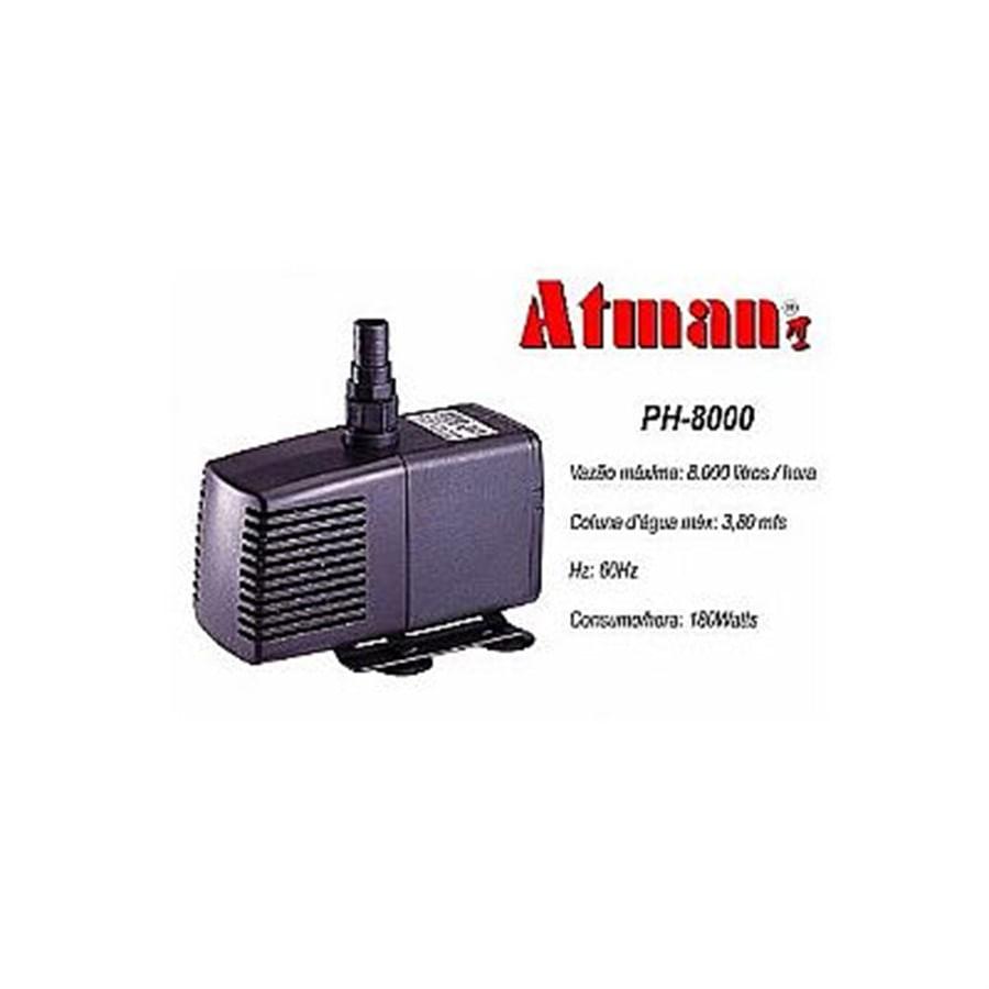 ATMAN PH-8000 - 8000L/H - Coluna d´água de 3,80 - 220V